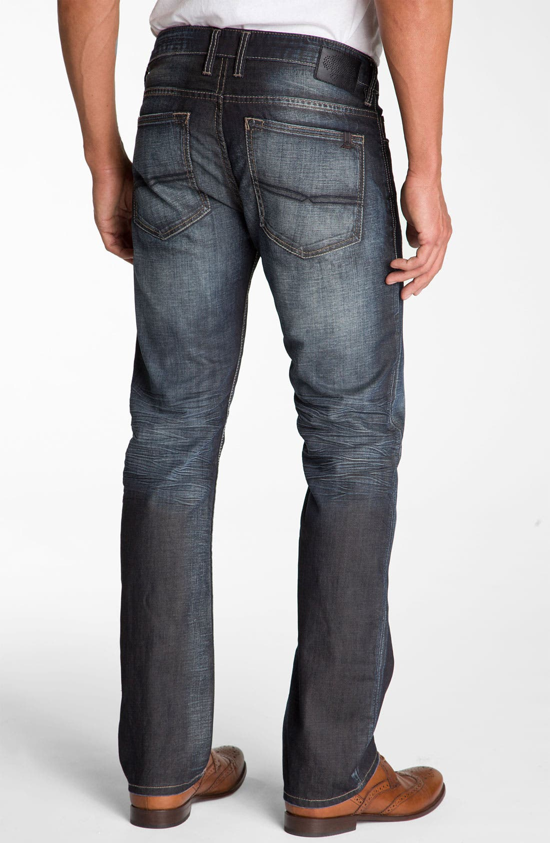 Alternate Image 2  - Buffalo Jeans 'Six' Slim Straight Leg Jeans (Vintage Stone)