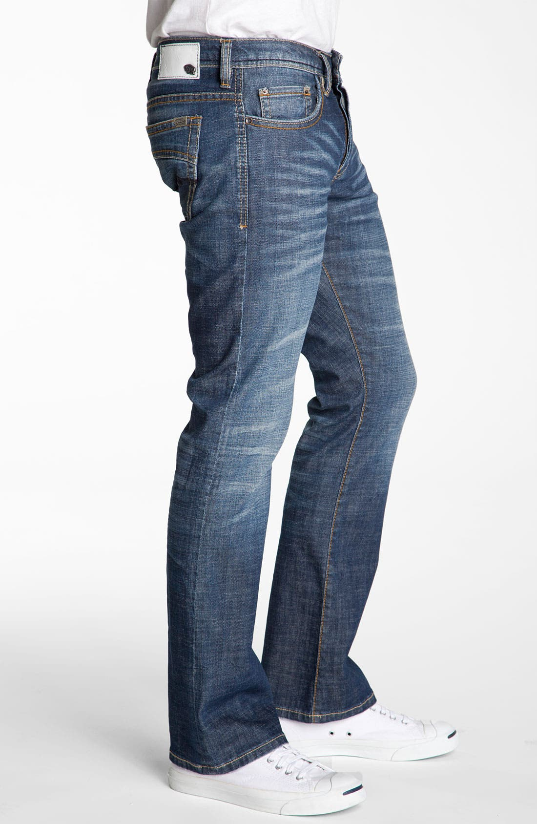 Alternate Image 3  - Buffalo Jeans 'King' Bootcut Jeans (Distressed & Worn)