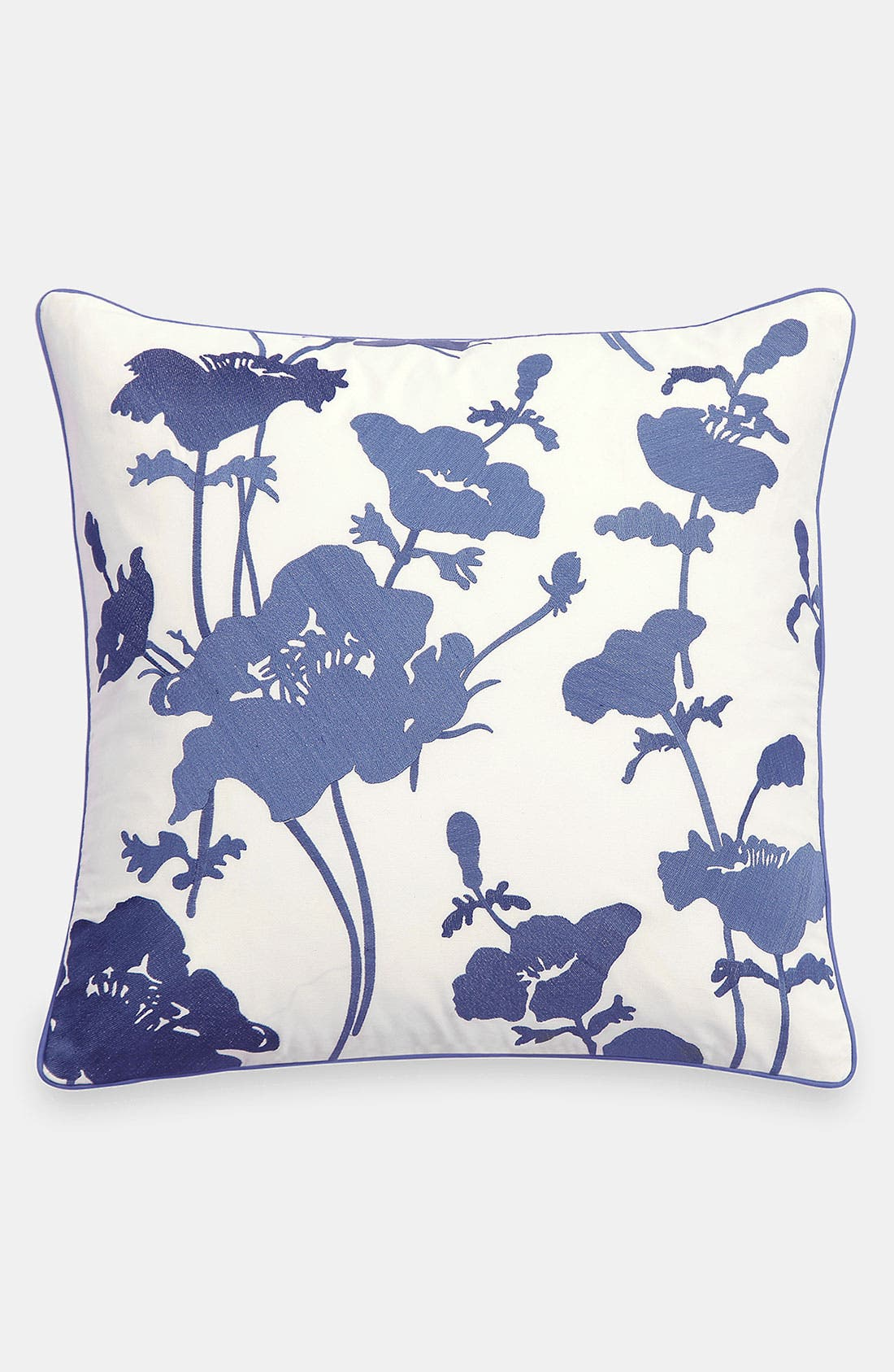 Main Image - kate spade new york 'embroidered flowers' pillow
