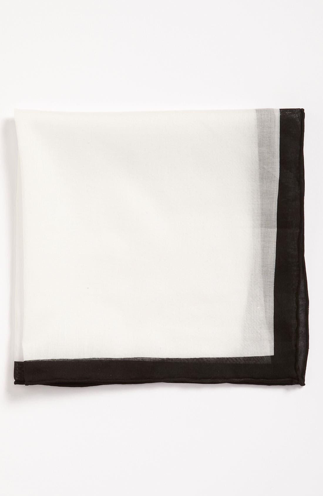 Alternate Image 1 Selected - Calibrate Cotton Pocket Square