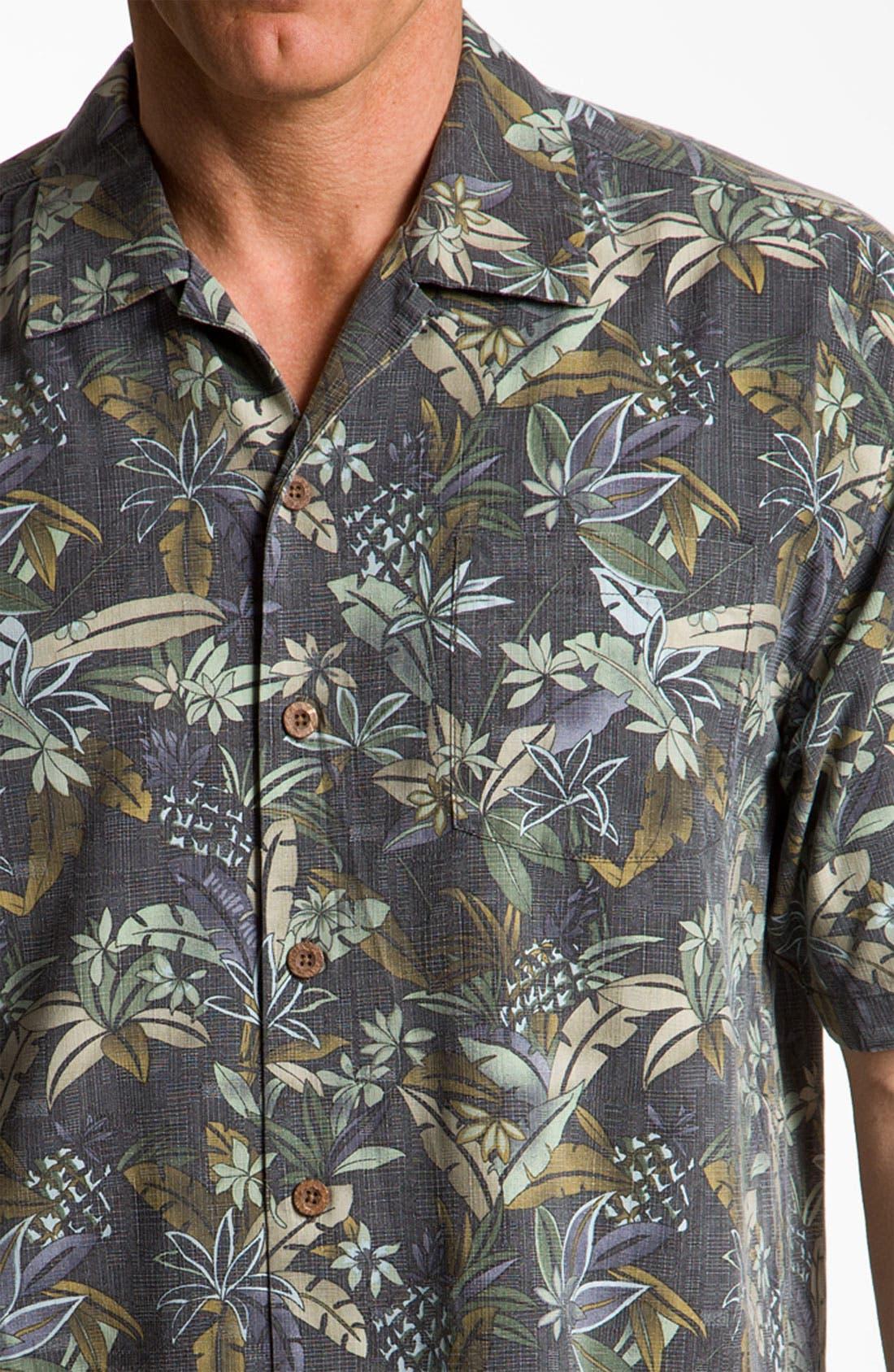Alternate Image 3  - Tommy Bahama 'Pineapple Ranch' Sport Shirt