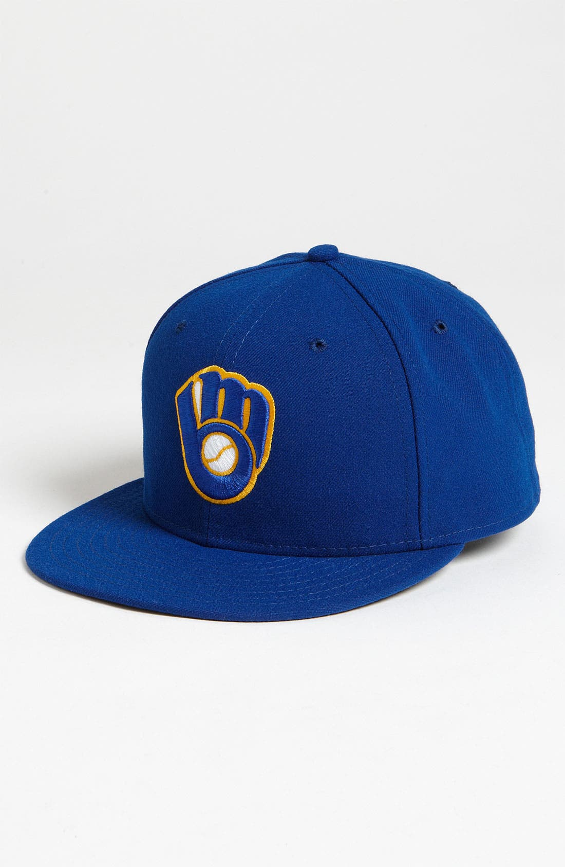 Alternate Image 1 Selected - New Era Cap 'Milwaukee Brewers' Baseball Cap