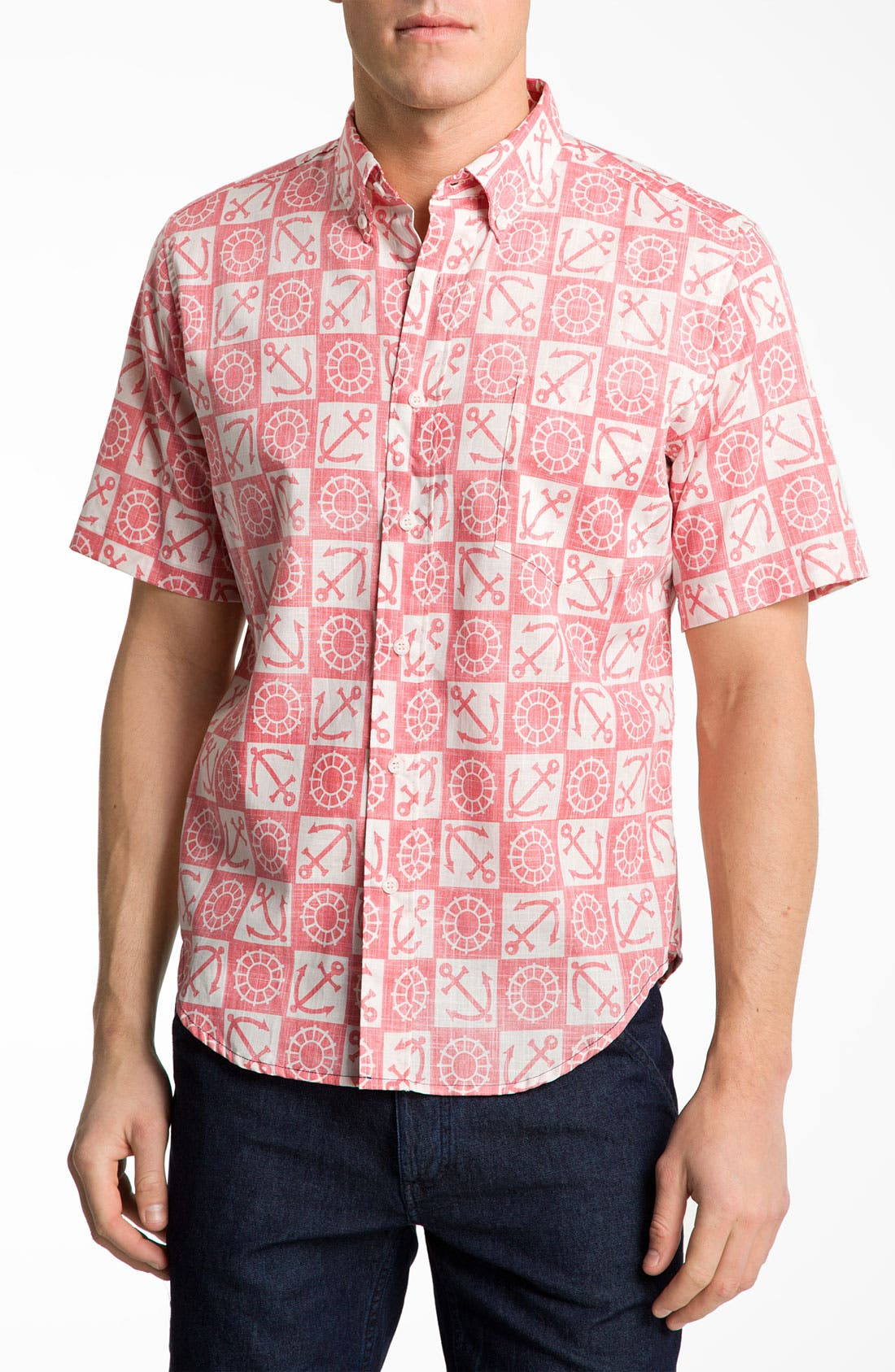 Alternate Image 1 Selected - Reyn Spooner 'Ko Olina Harbor' Woven Shirt.