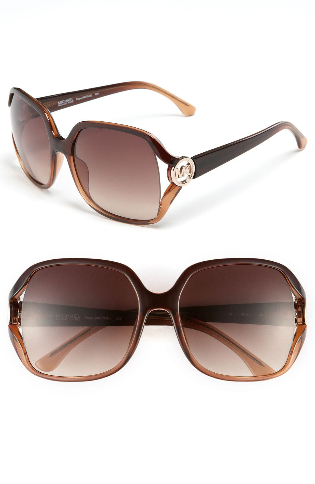 Main Image - MICHAEL Michael Kors 56mm Oversized Sunglasses