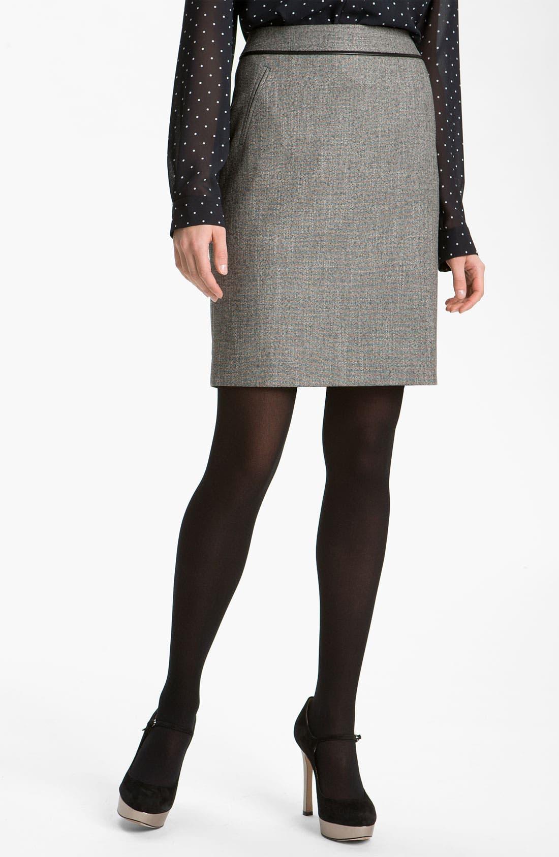 Main Image - Halogen® Two Tone Pencil Skirt