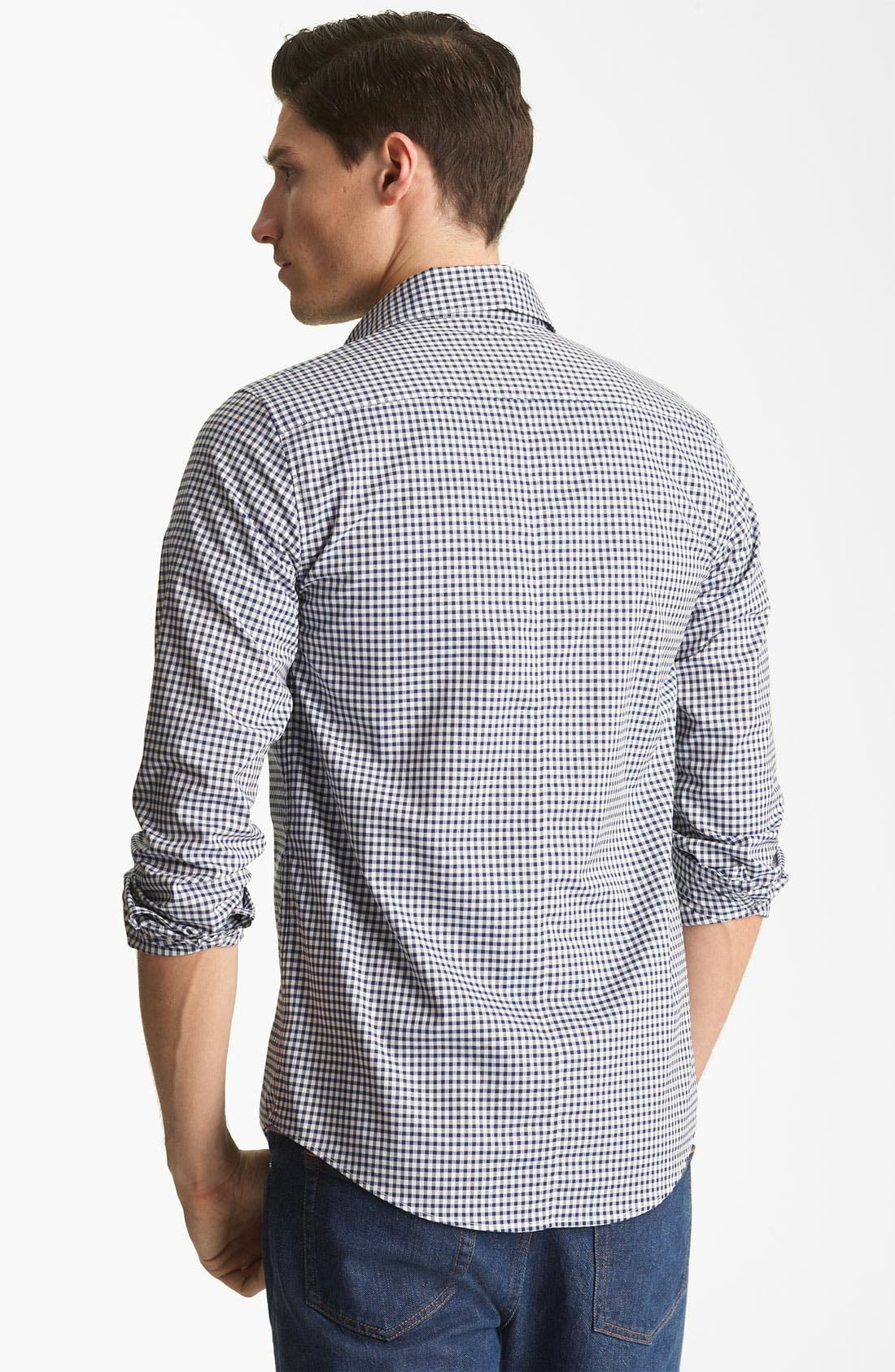 Alternate Image 2  - A.P.C. Gingham Shirt