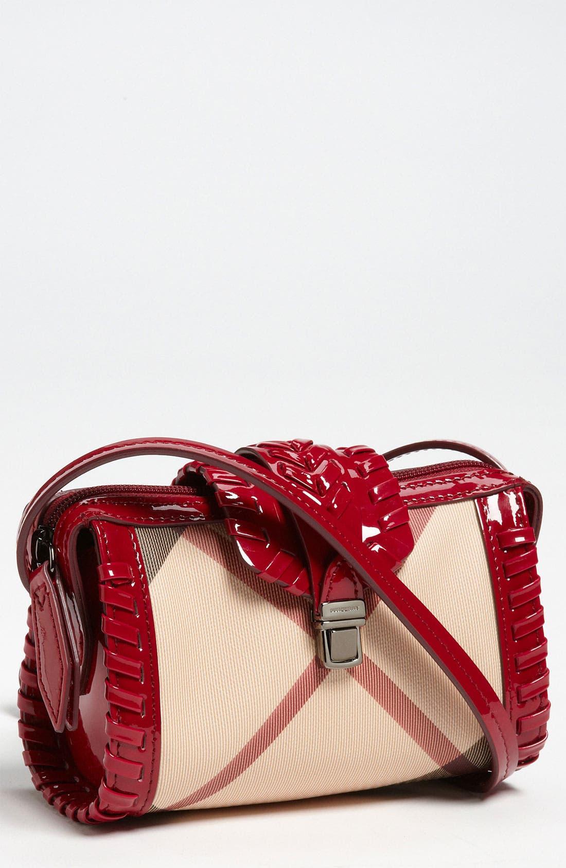 Alternate Image 1 Selected - Burberry Crossbody Bag (Girls)