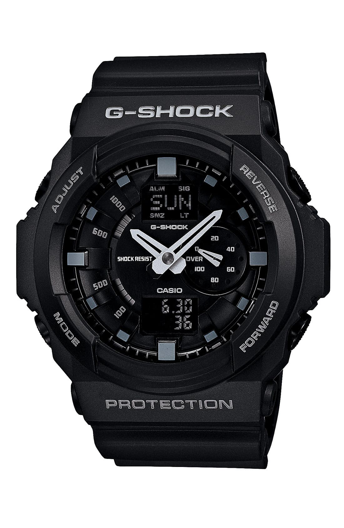 Main Image - G-Shock 'X-Large' Dual Movement Watch, 52mm