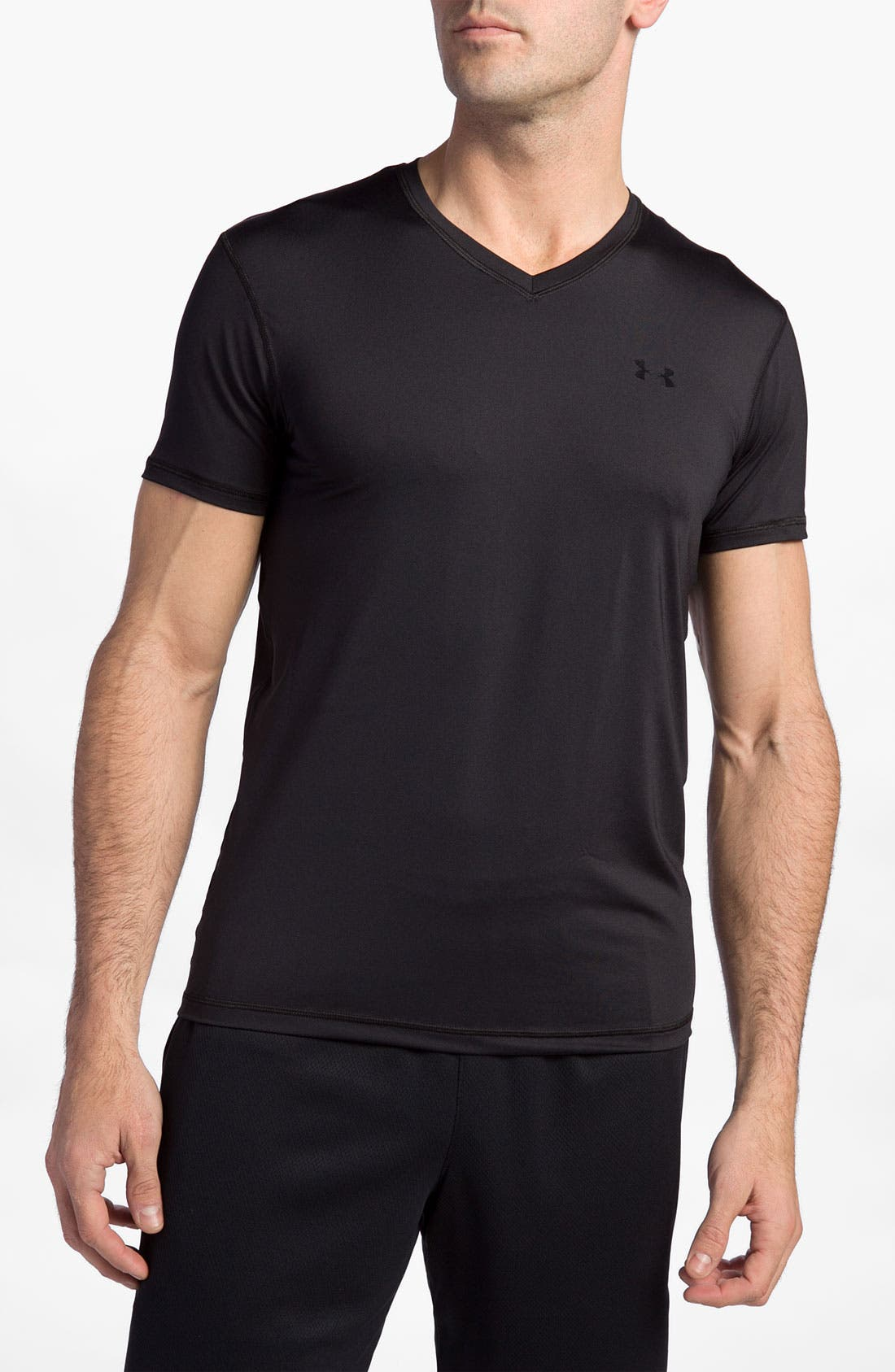 Alternate Image 1 Selected - Under Armour 'O Series' HeatGear® V-Neck T-Shirt