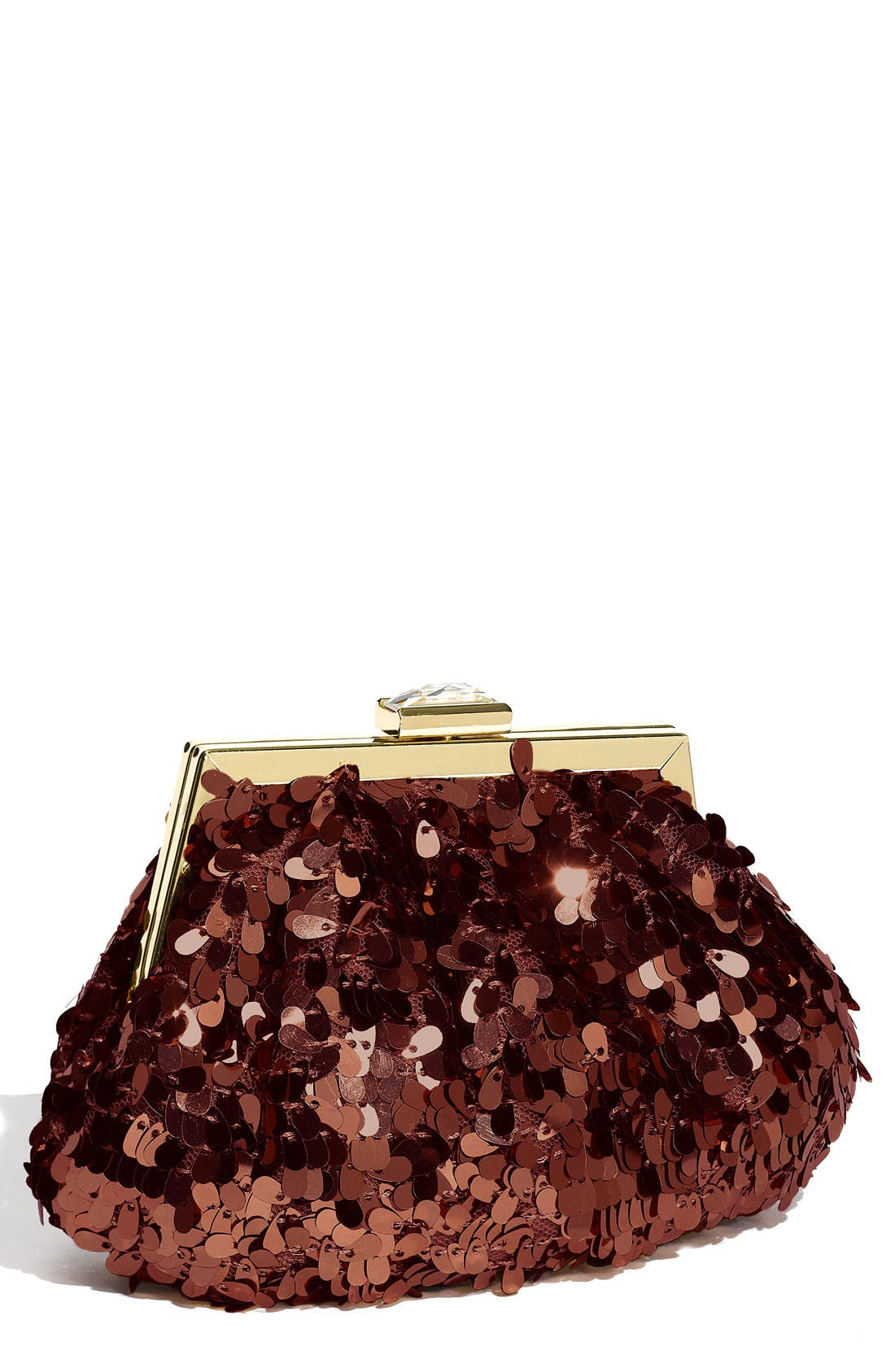 Alternate Image 1 Selected - Jessica McClintock Sequin Pouch Clutch