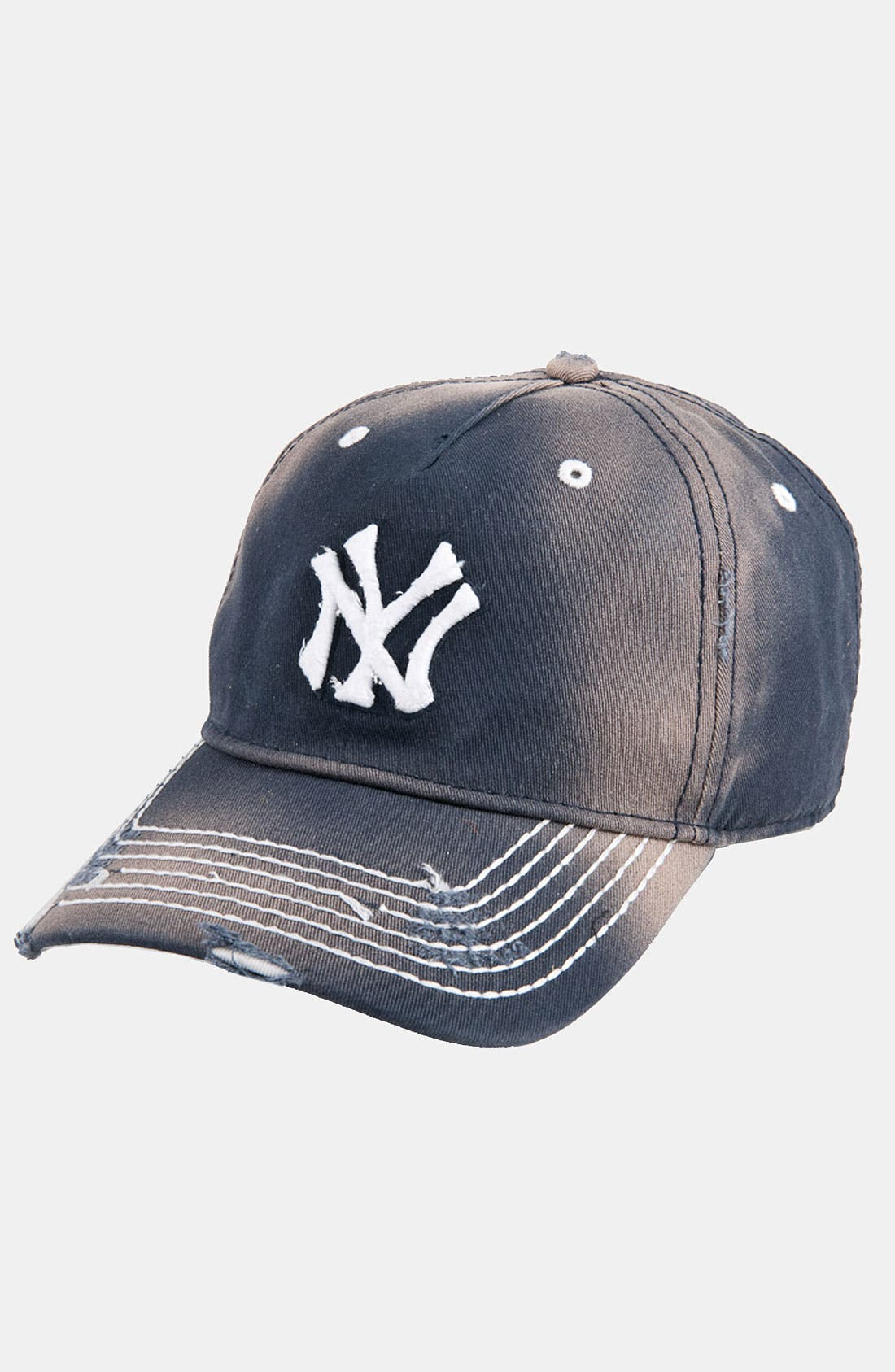 Alternate Image 1 Selected - American Needle 'New York Yankees' Distressed Cap