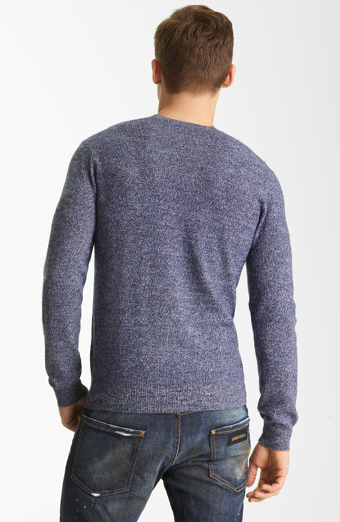 Alternate Image 2  - Dsquared2 Wool Crewneck Sweater