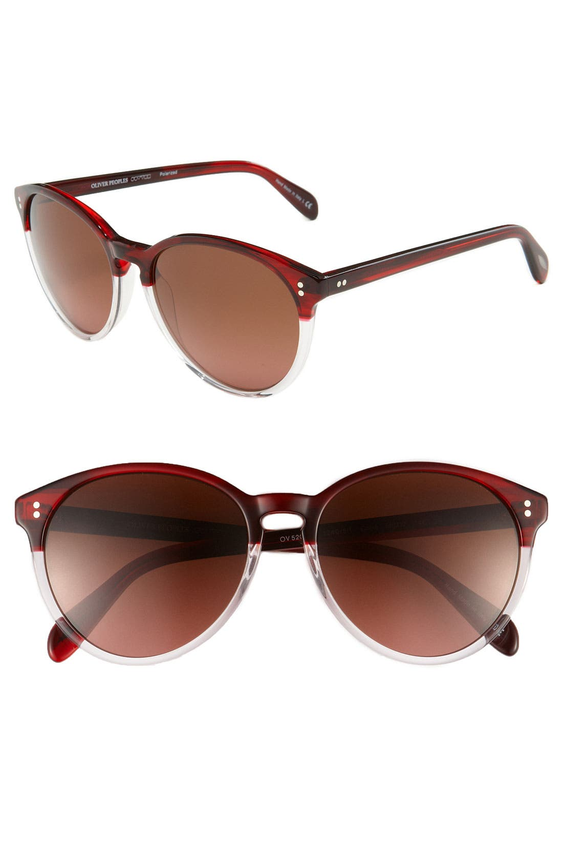Alternate Image 1 Selected - Oliver Peoples 56mm Sunglasses