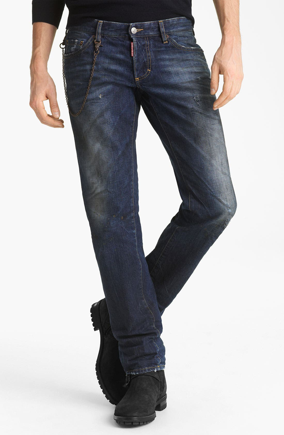 Alternate Image 2  - Dsquared2 Slim Fit Jeans (Grease Monkey)