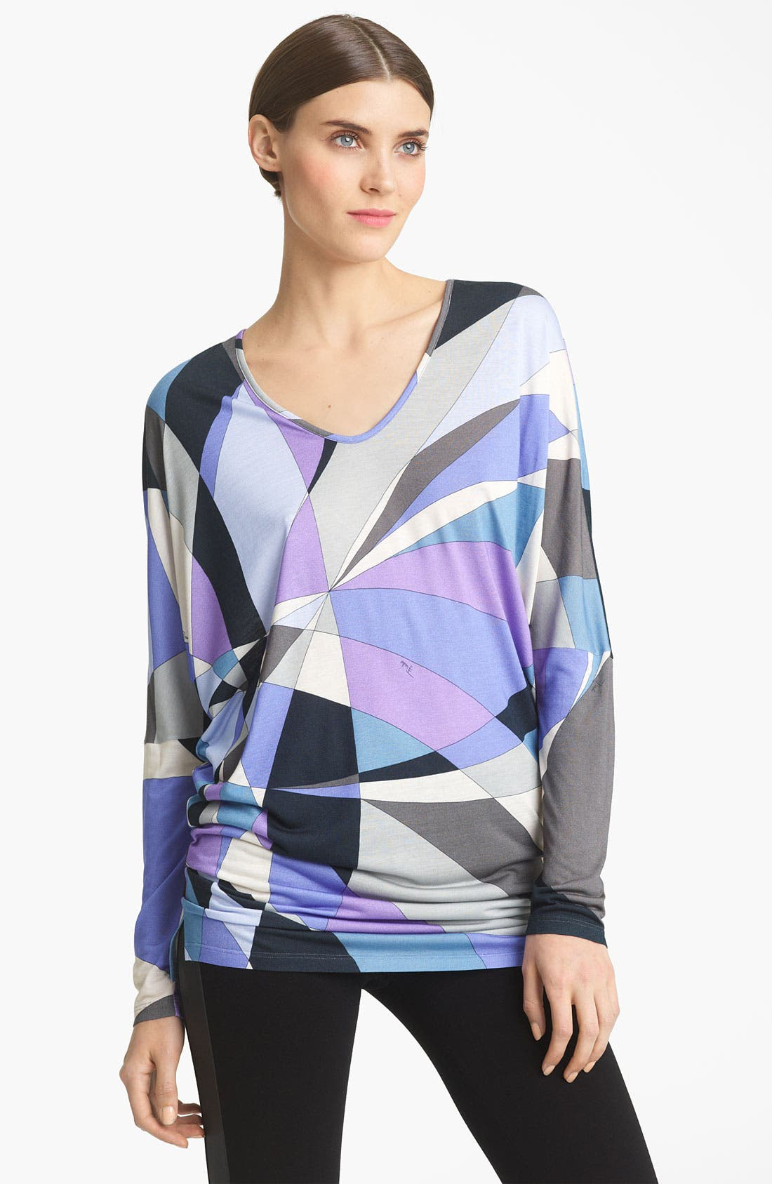 Alternate Image 1 Selected - Emilio Pucci Print Jersey Tunic