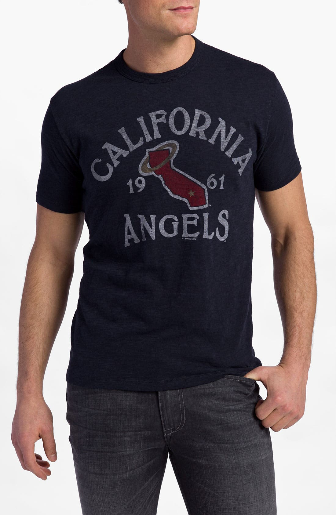 Alternate Image 1 Selected - Banner 47 'Los Angeles Angels' Regular Fit Crewneck T-Shirt (Men)