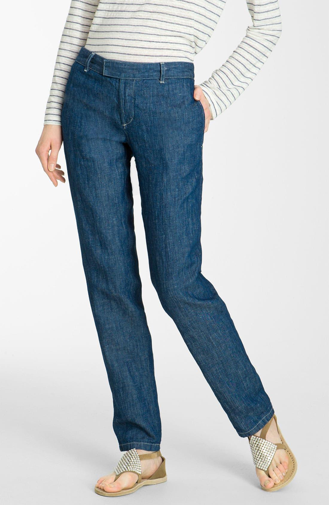 Alternate Image 1 Selected - A.P.C. Straight Leg Denim Pants