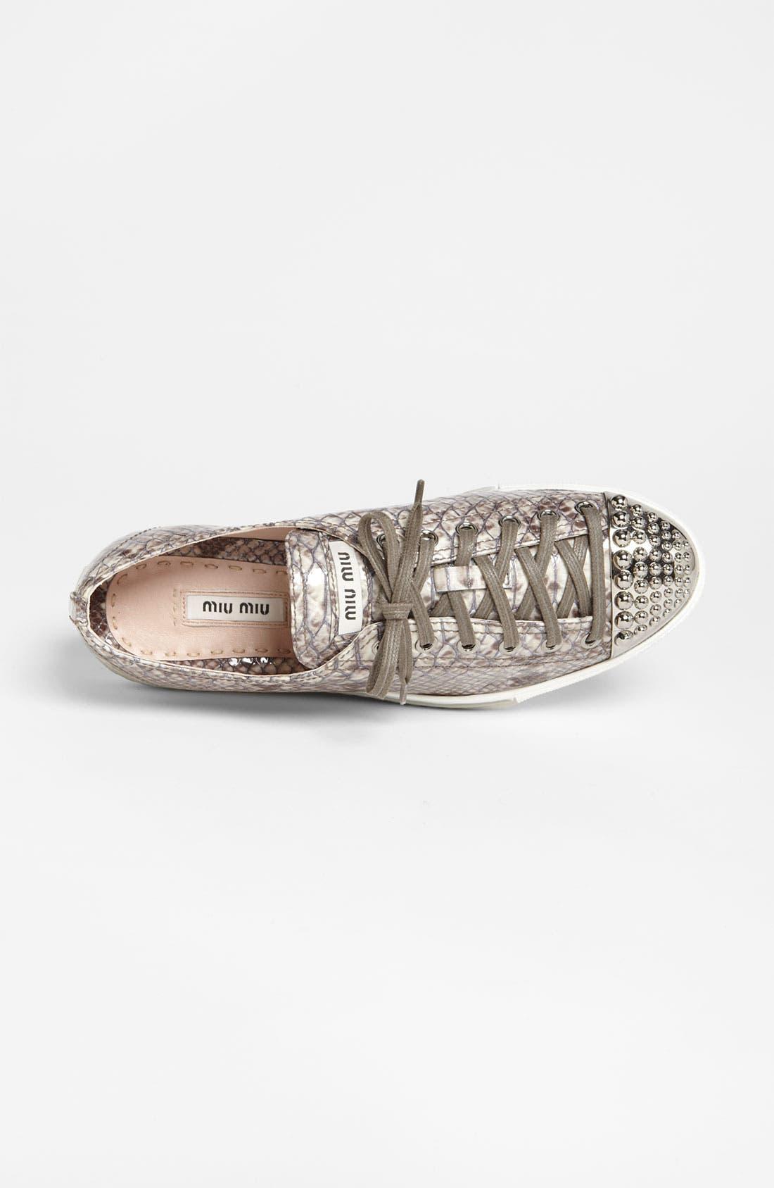 Alternate Image 3  - Miu Miu Sneaker