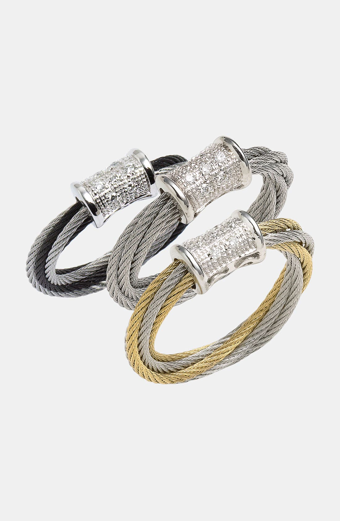 Alternate Image 1 Selected - ALOR® Diamond Station Ring