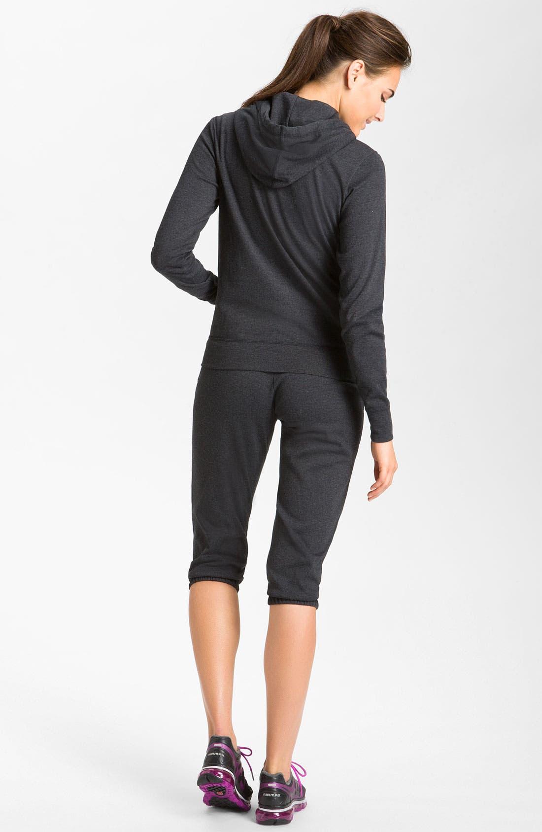 Alternate Image 5  - Nike Full Zip Jersey Hoodie