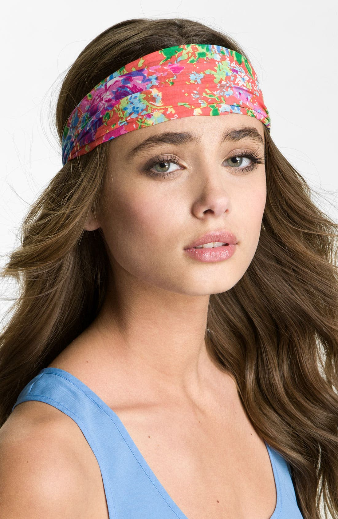 Alternate Image 1 Selected - Capelli of New York Floral Headband
