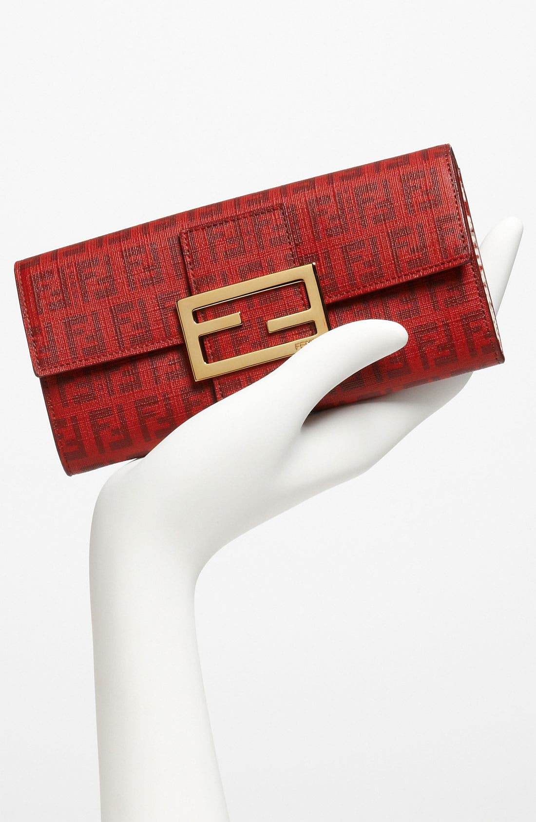 Alternate Image 3  - Fendi 'Forever Flowers' Continental Wallet
