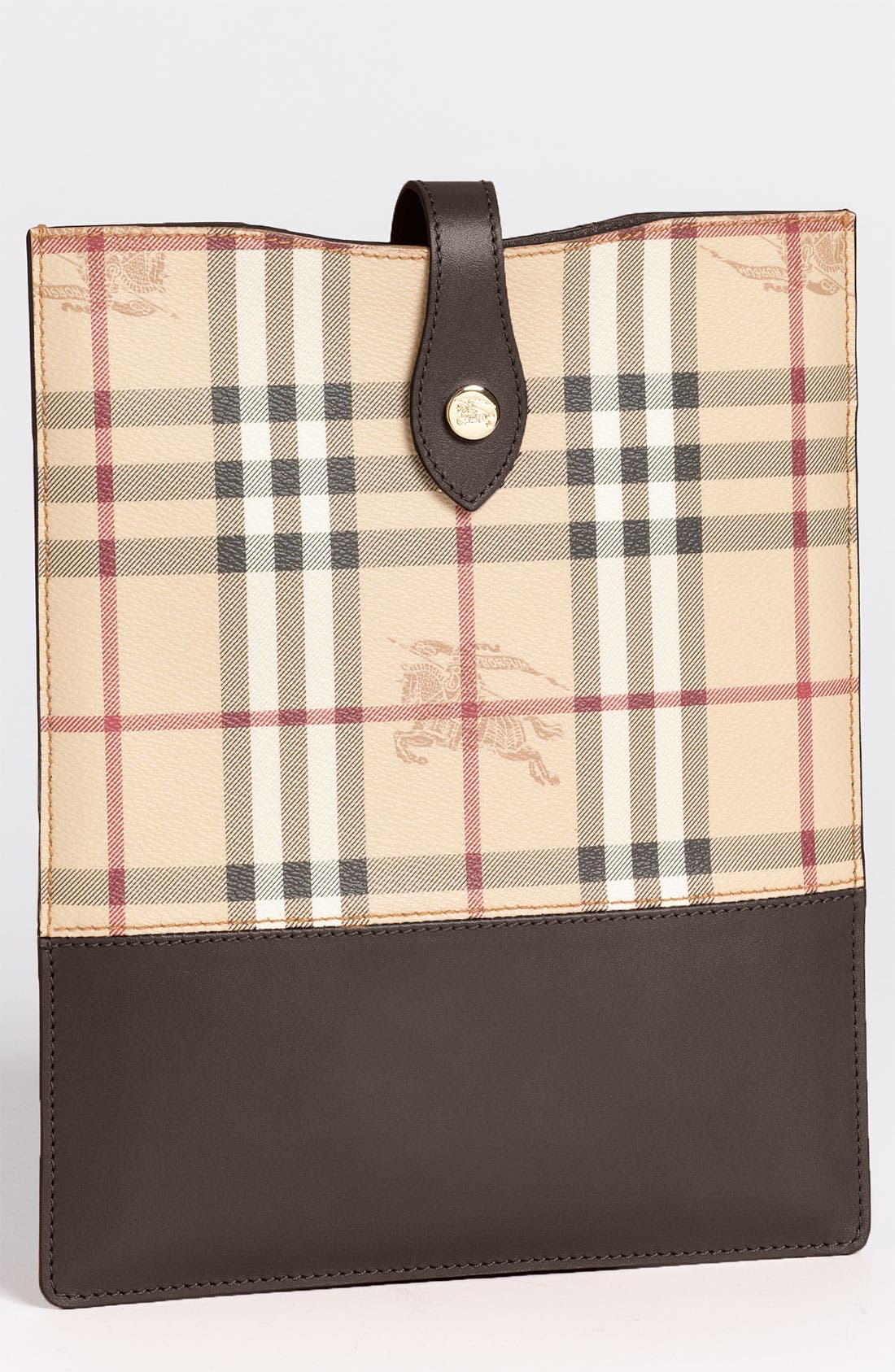 Main Image - Burberry 'Haymarket Check' iPad Sleeve