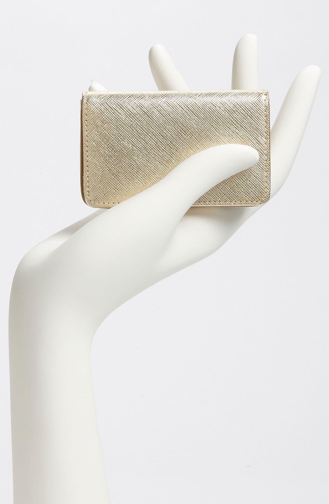 Alternate Image 2  - Halogen® Leather Card Case
