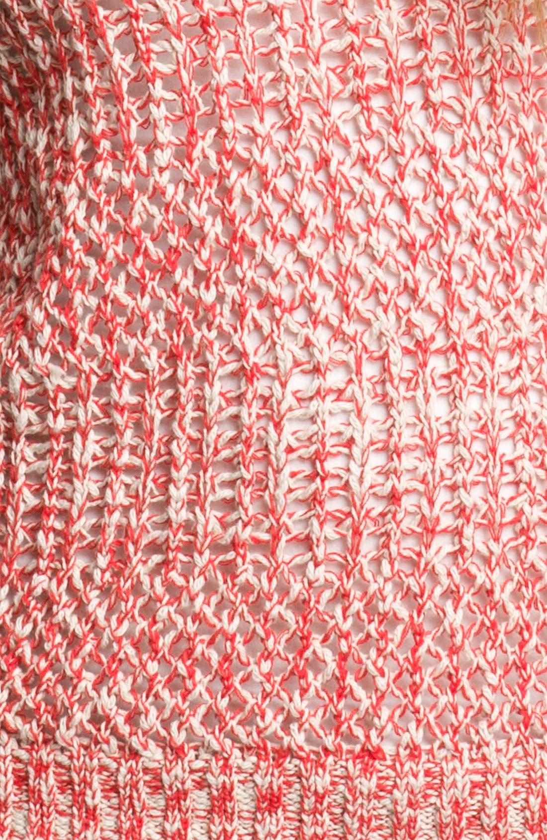 Alternate Image 3  - Rubbish® Marled Knit Sweater (Juniors)