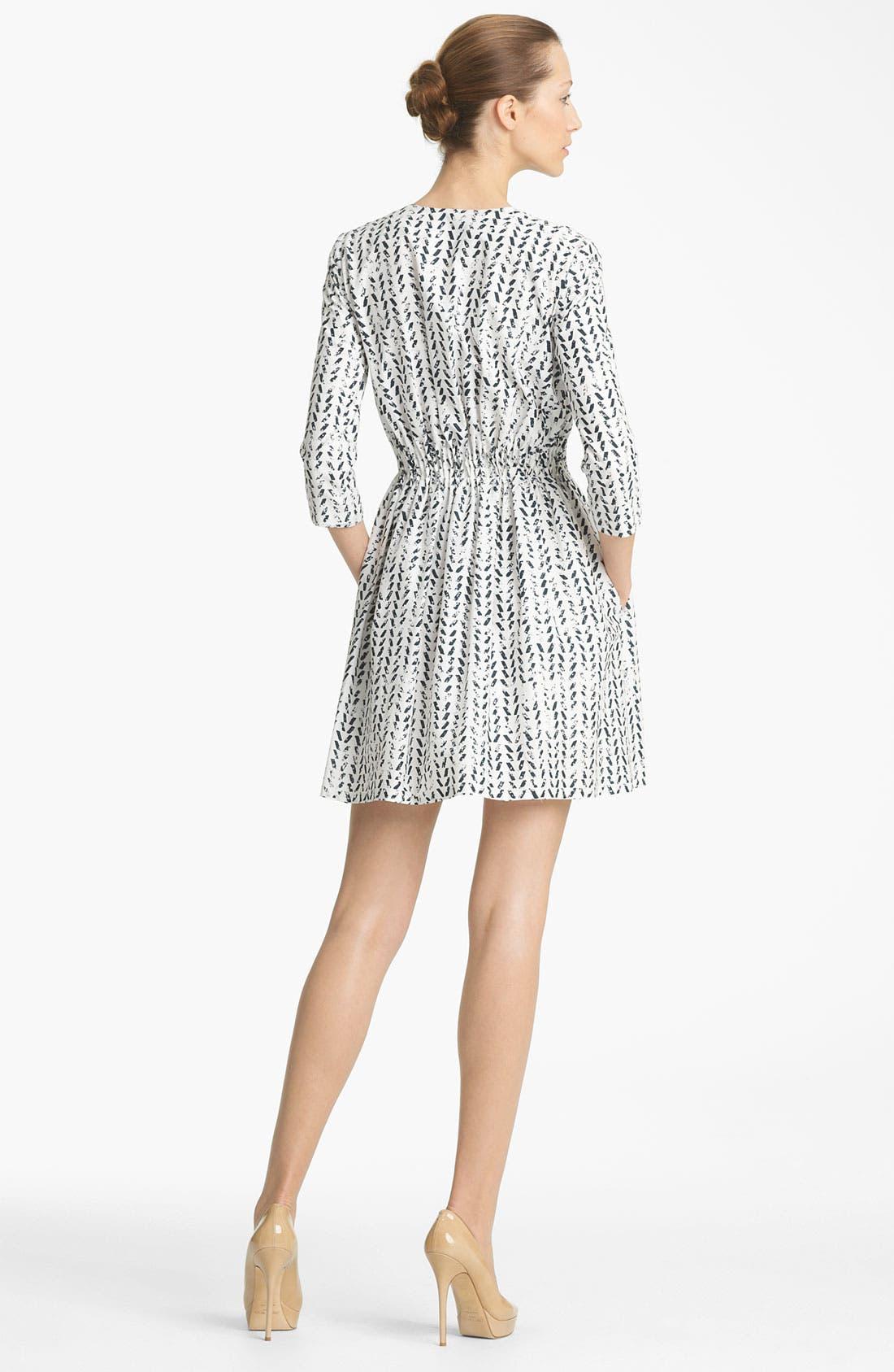 Alternate Image 2  - Thakoon Print Poplin Dress