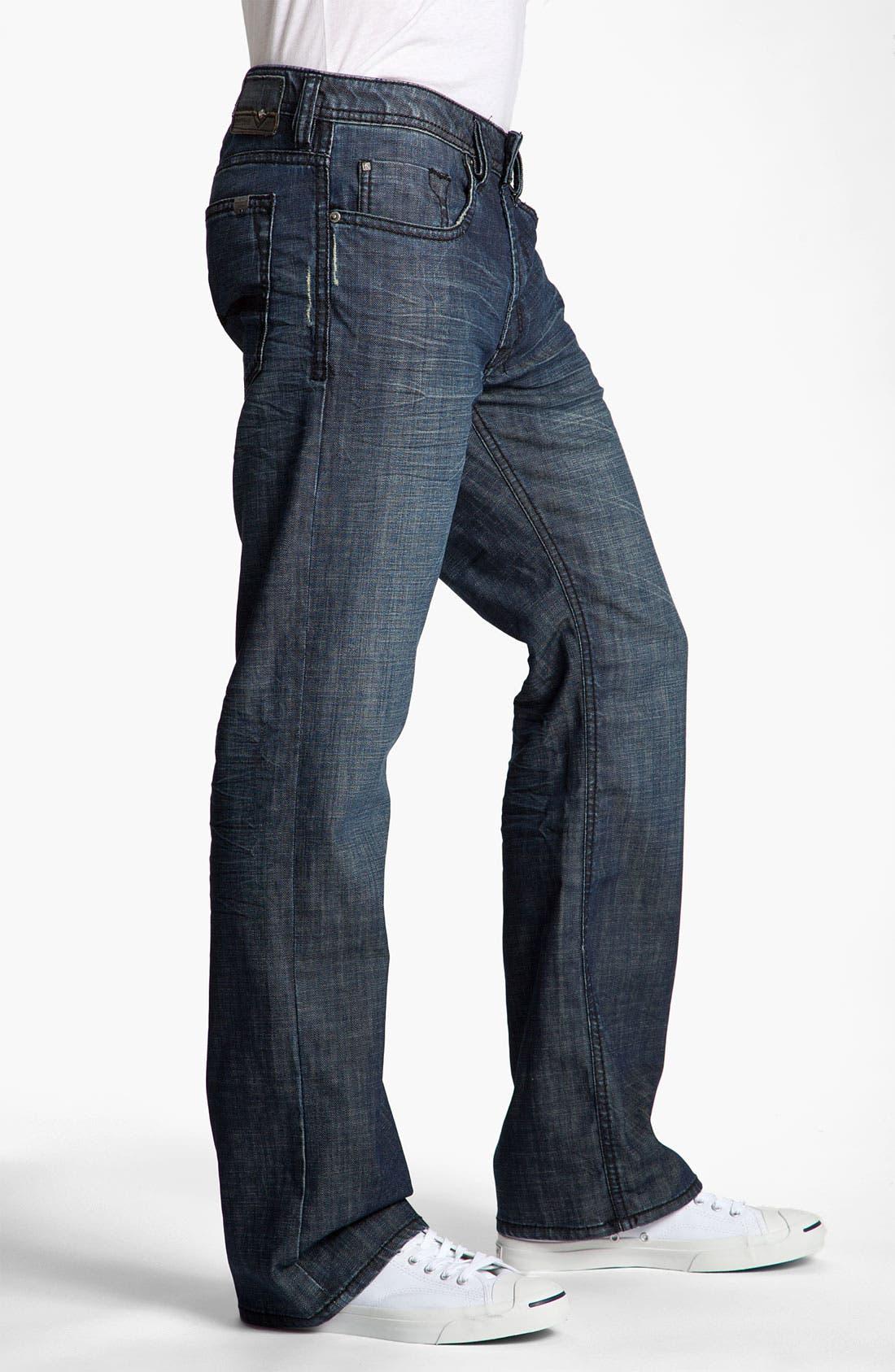 Alternate Image 3  - Buffalo Jeans 'Driven' Straight Leg Jeans (Vintage Stone)
