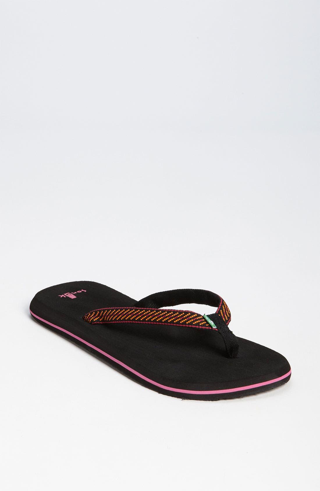 Alternate Image 1 Selected - Sanuk 'Sandpiper' Flip Flop