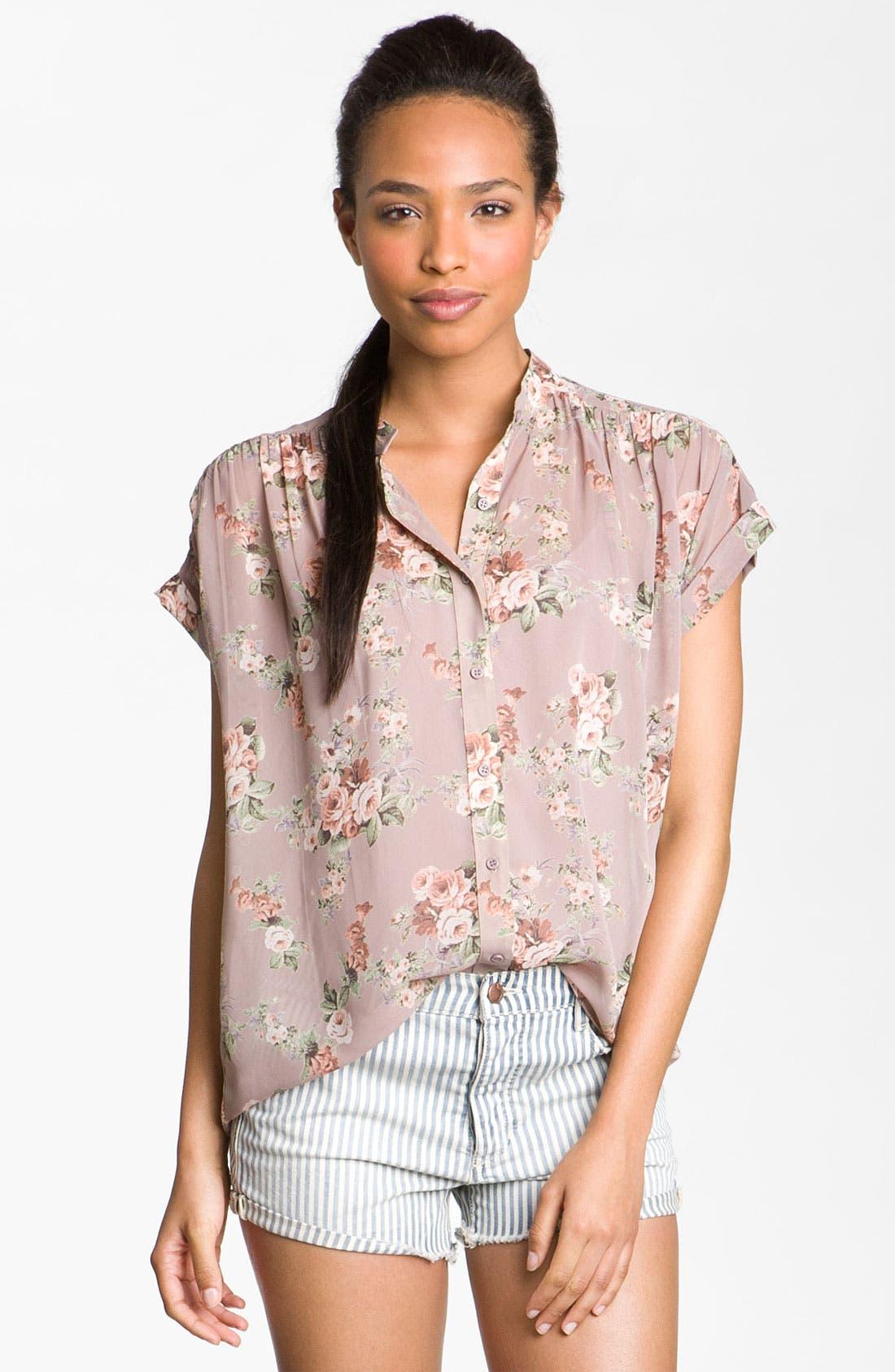Main Image - Bellatrix Sheer Print Shirt