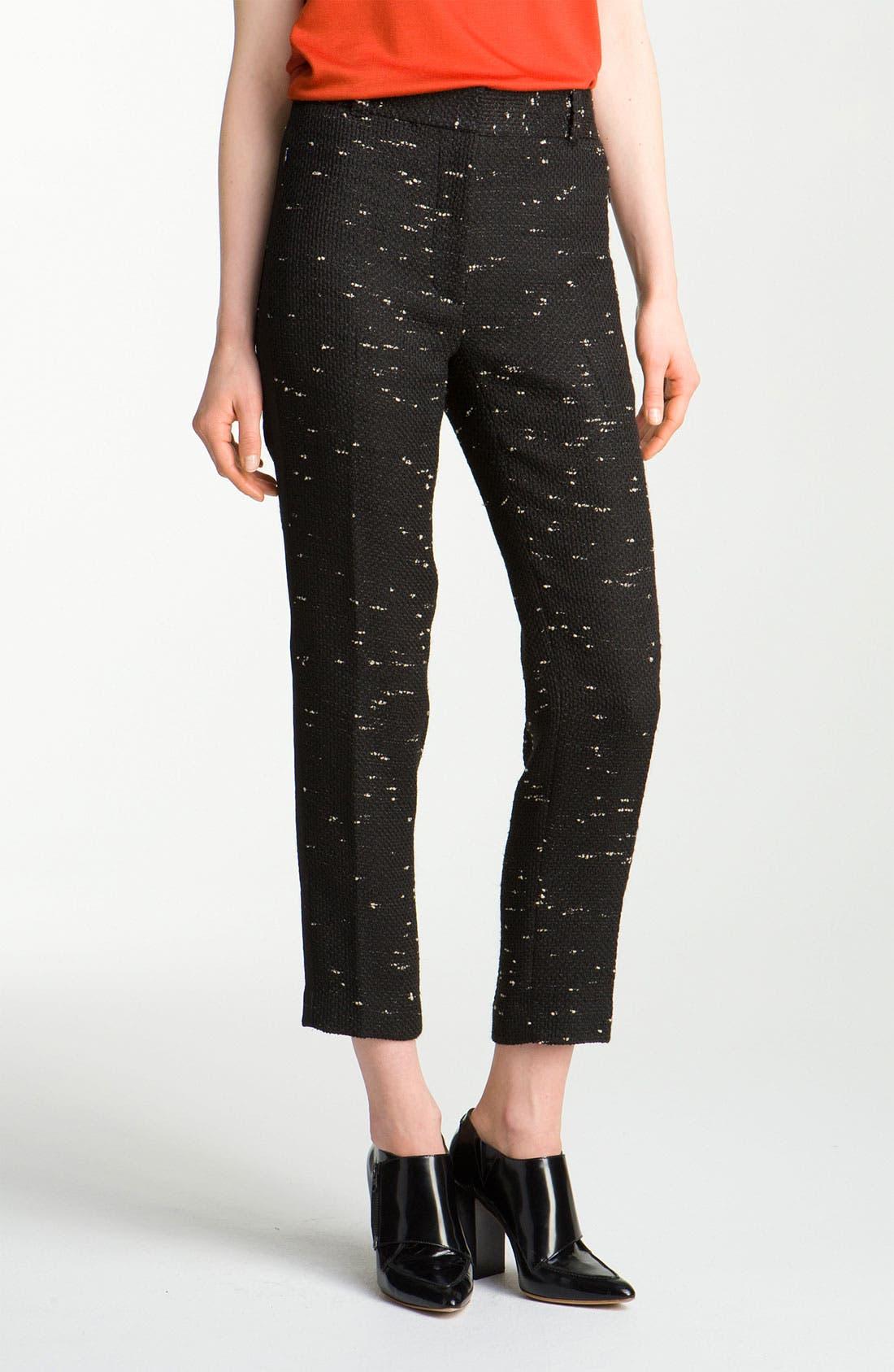Alternate Image 1 Selected - 3.1 Phillip Lim Crop Tweed Trousers