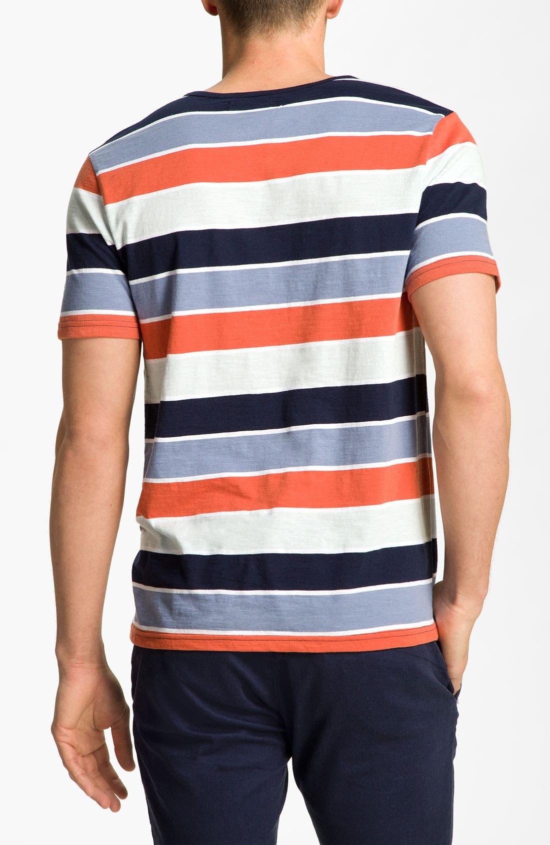Alternate Image 2  - Volcom 'Lingo' Stripe Henley T-Shirt