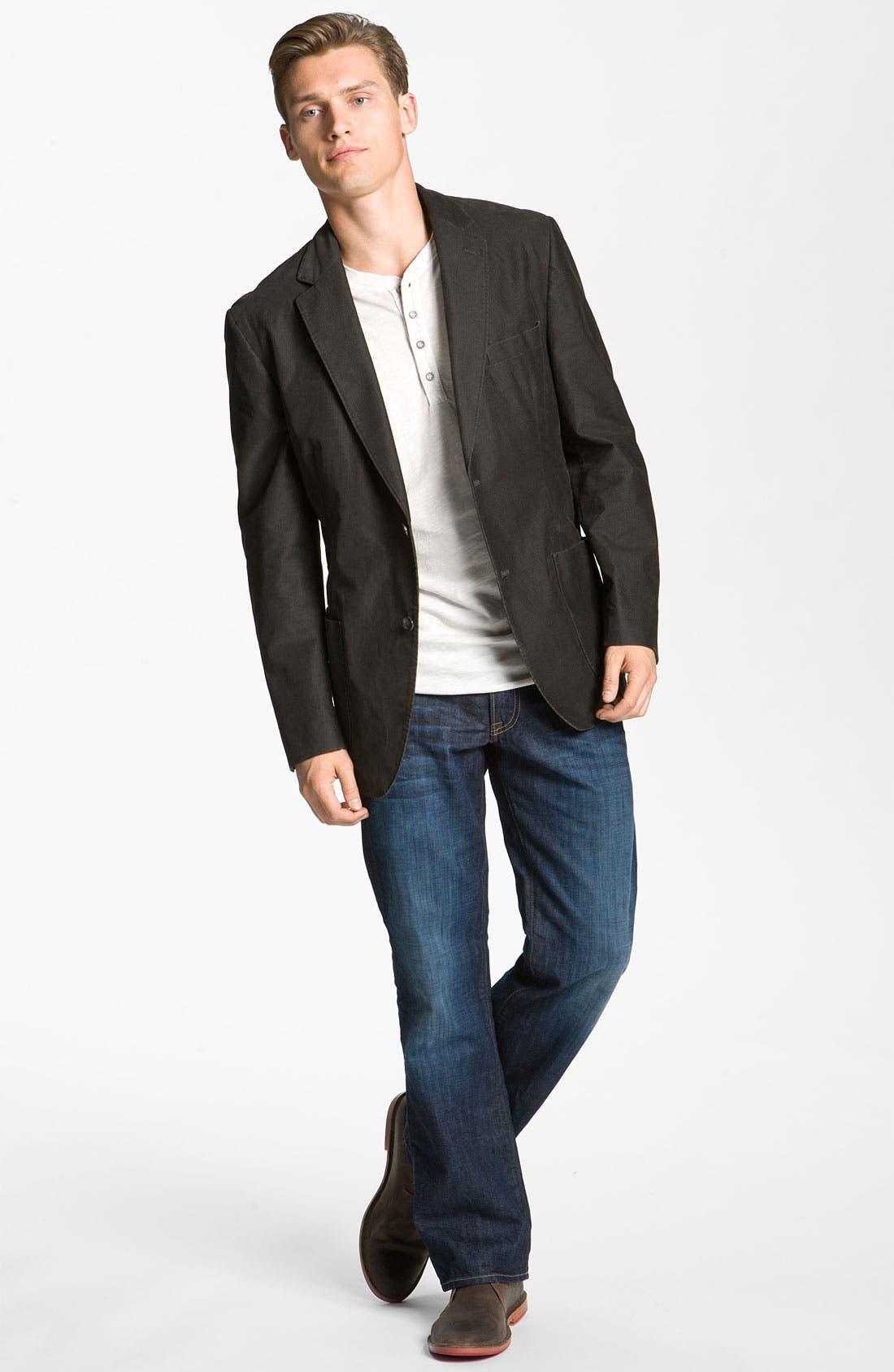 Alternate Image 5  - Lucky Brand '361 Vintage' Straight Leg Jeans (Dark Creek)