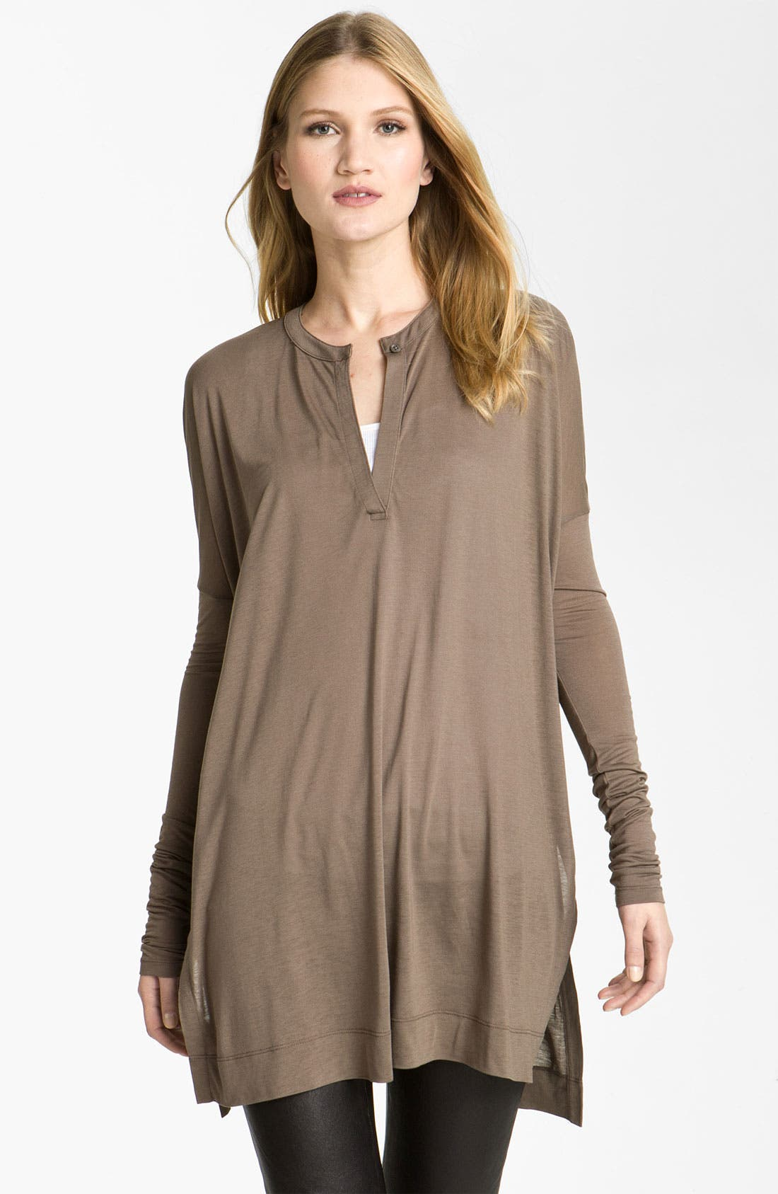 Alternate Image 1 Selected - Vince Oversized Tunic Henley