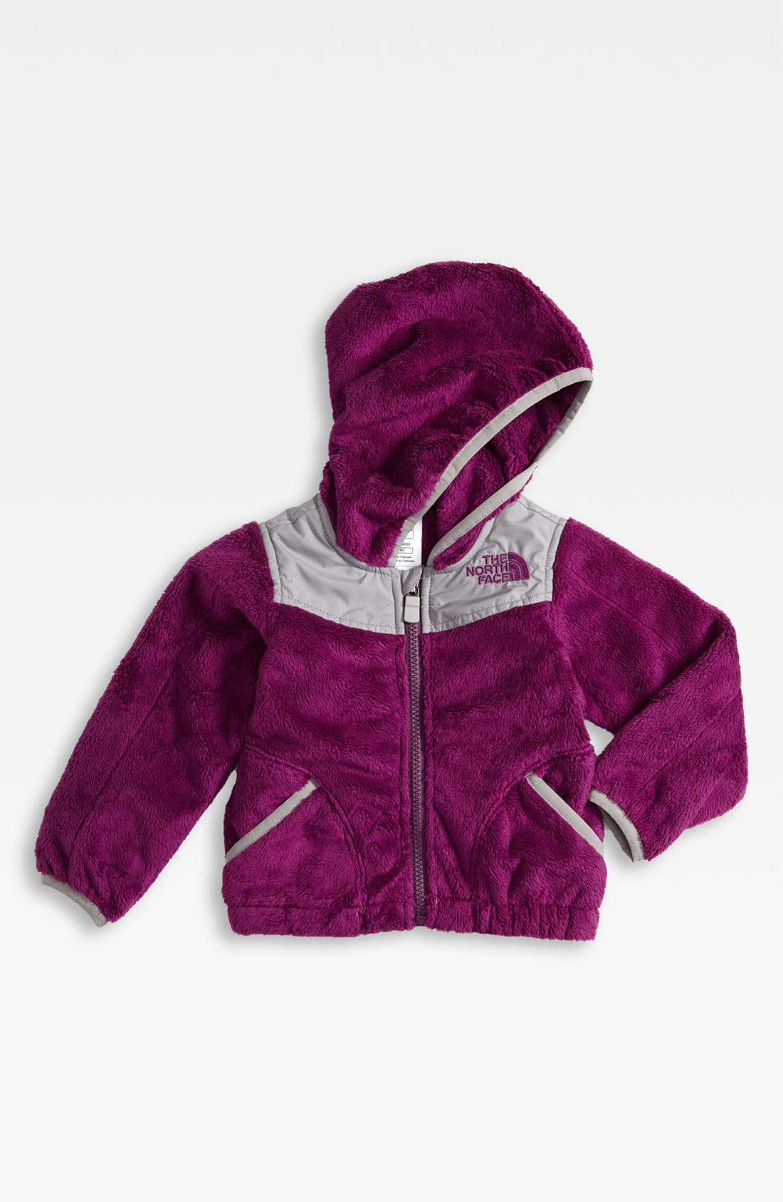 Alternate Image 1 Selected - The North Face 'Oso' Hooded Fleece Jacket (Baby)