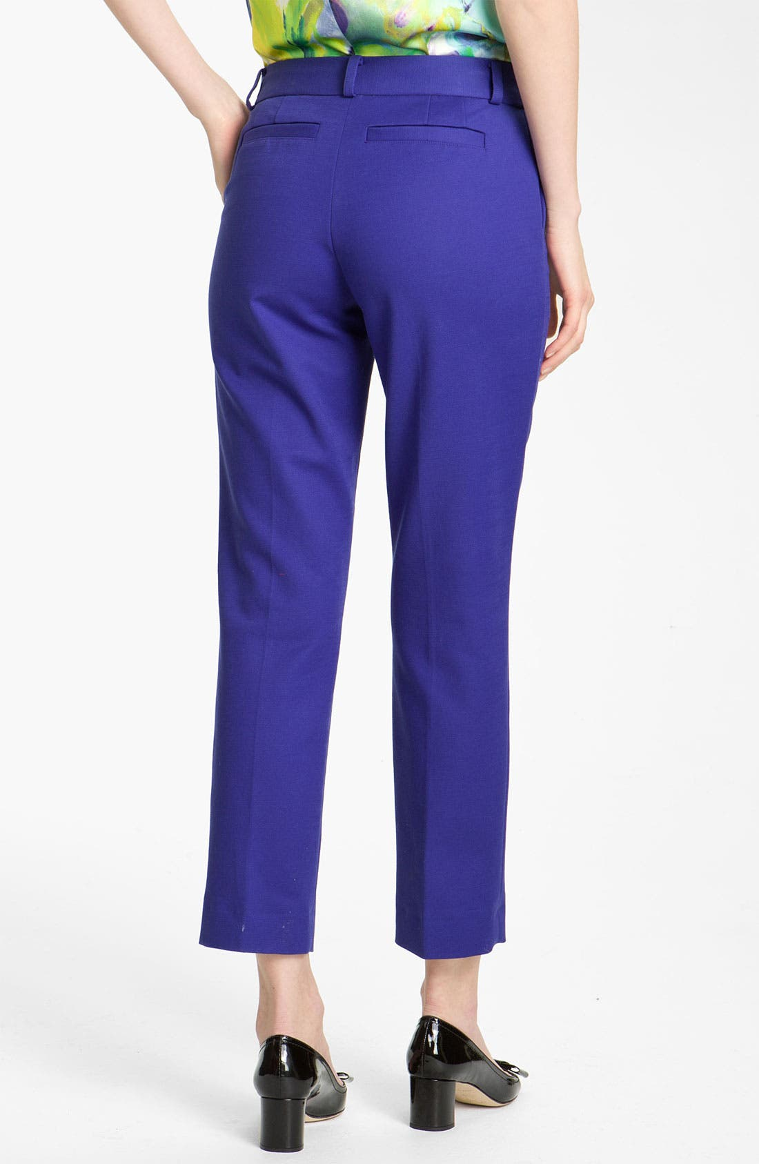 Alternate Image 3  - kate spade new york 'davis' slim leg crop pants