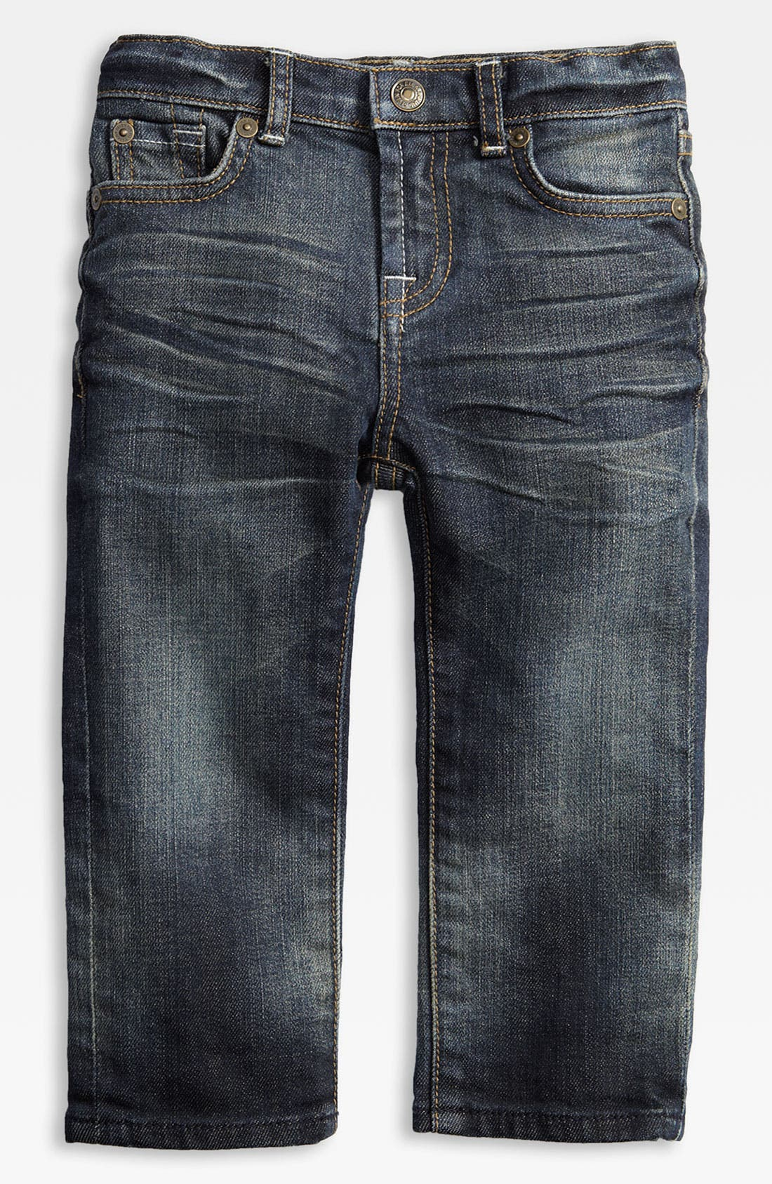 Alternate Image 2  - 7 For All Mankind® 'Standard' Jeans (Toddler)