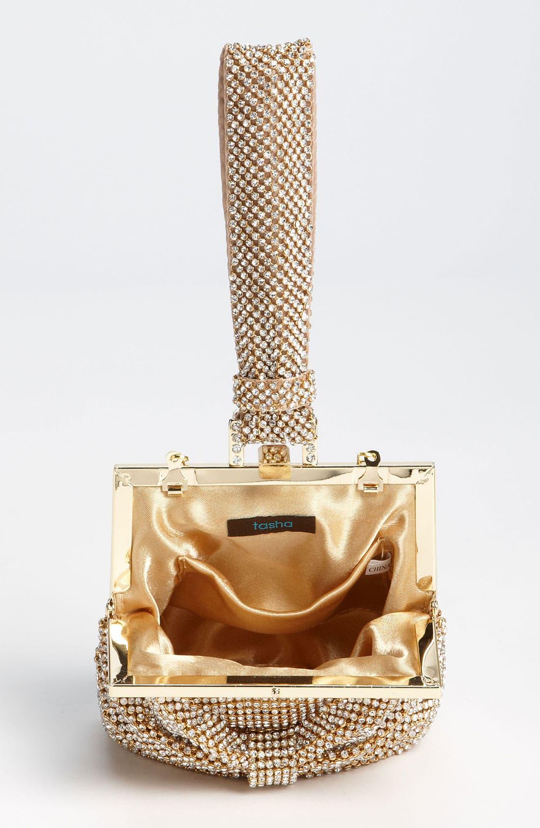Alternate Image 3  - Natasha Couture Bow Wristlet