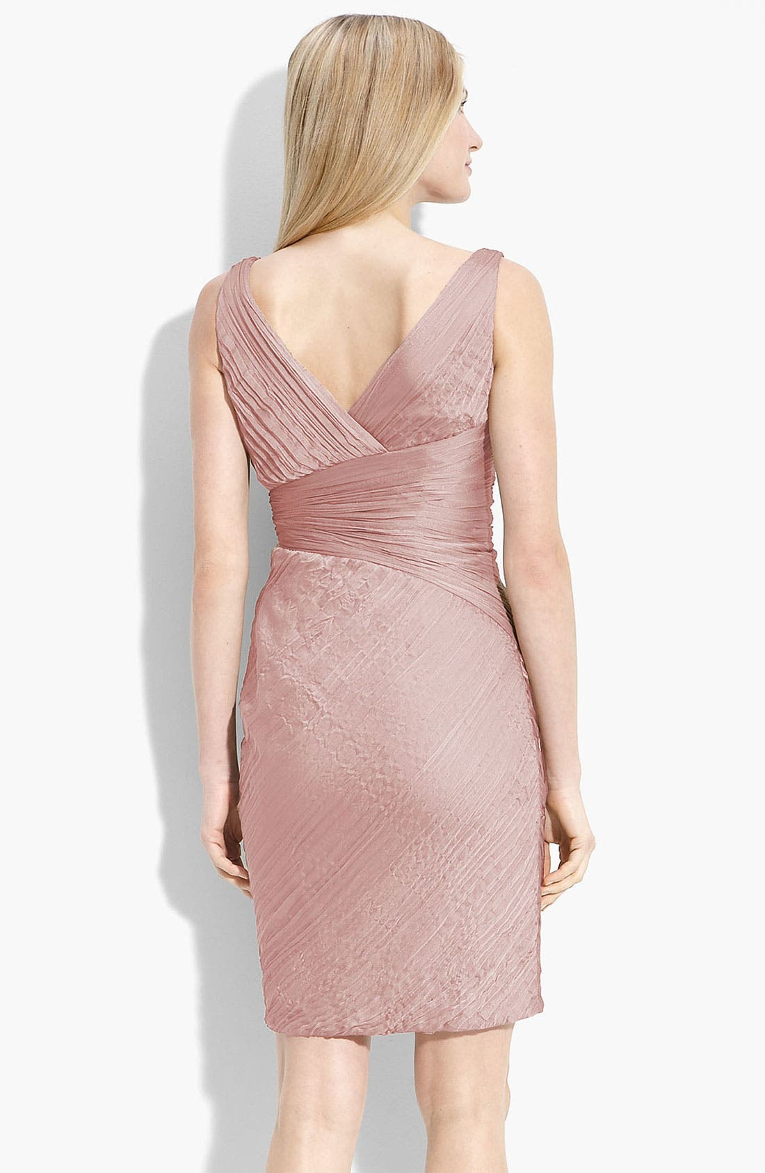 Alternate Image 2  - ML Monique Lhuillier Bridesmaid Ruched Cationic Chiffon Dress (Nordstrom Exclusive)