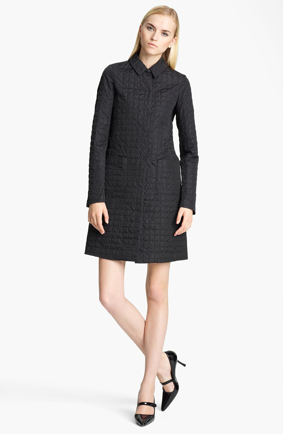 Alternate Image 1 Selected - Jil Sander Navy Quilted Coat