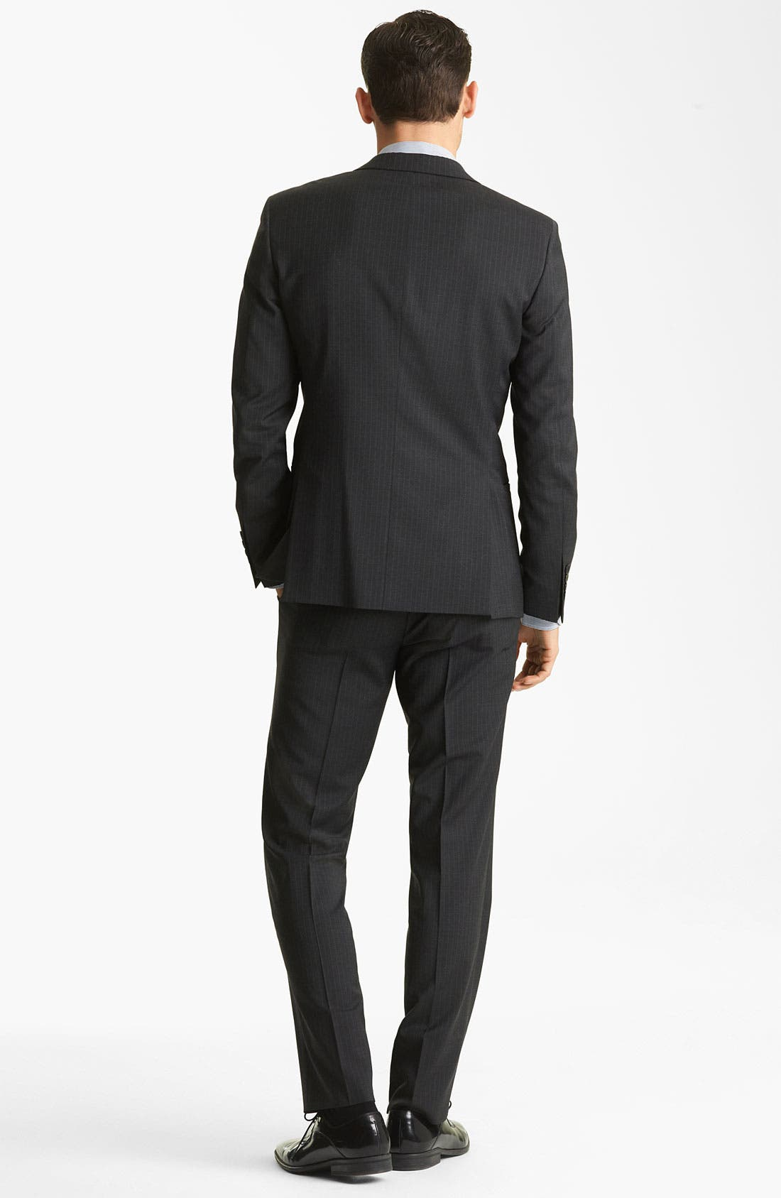 Alternate Image 3  - Dolce&Gabbana Pinstripe Suit