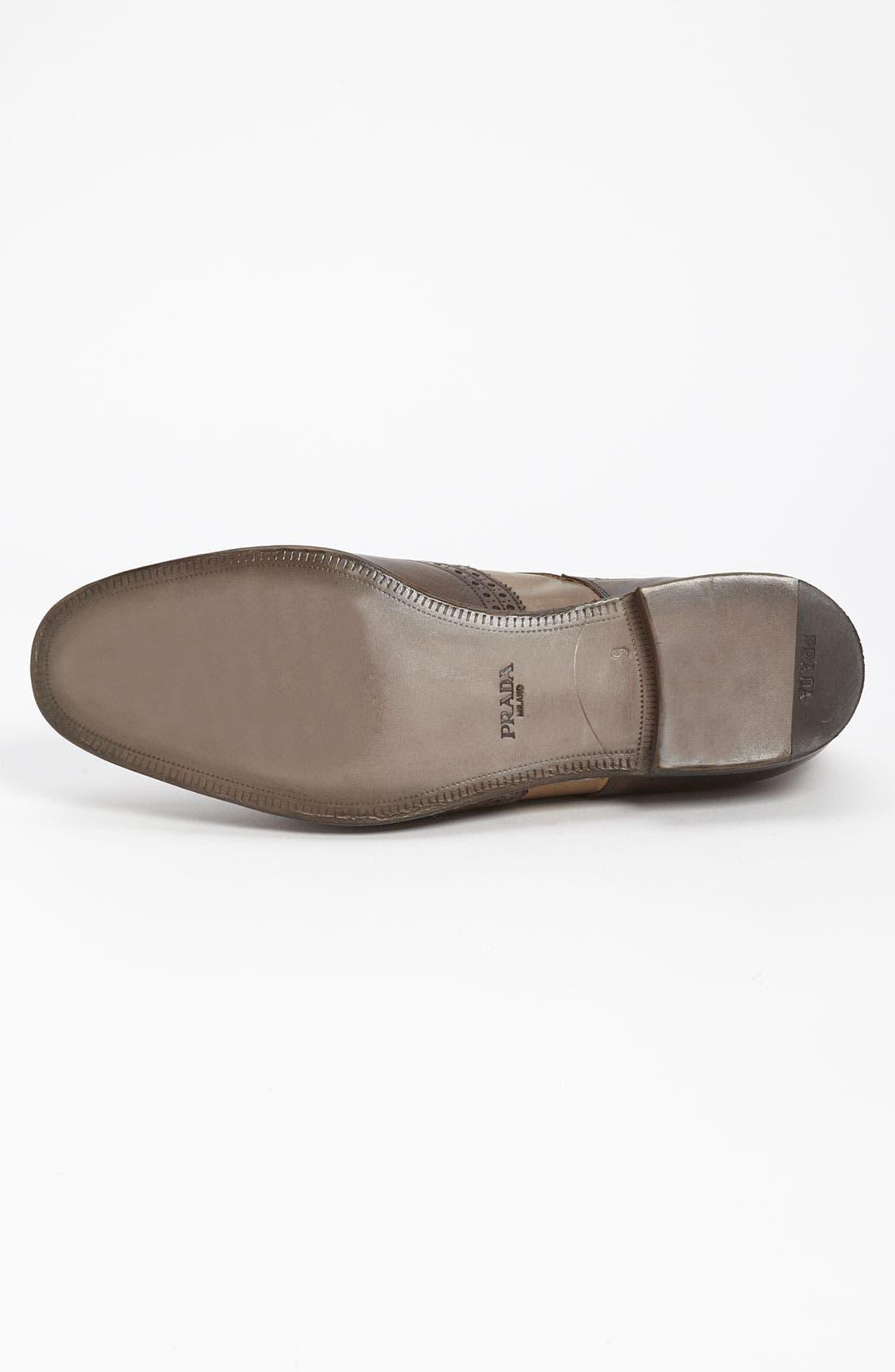 Alternate Image 4  - Prada Kiltie Spectator Shoe