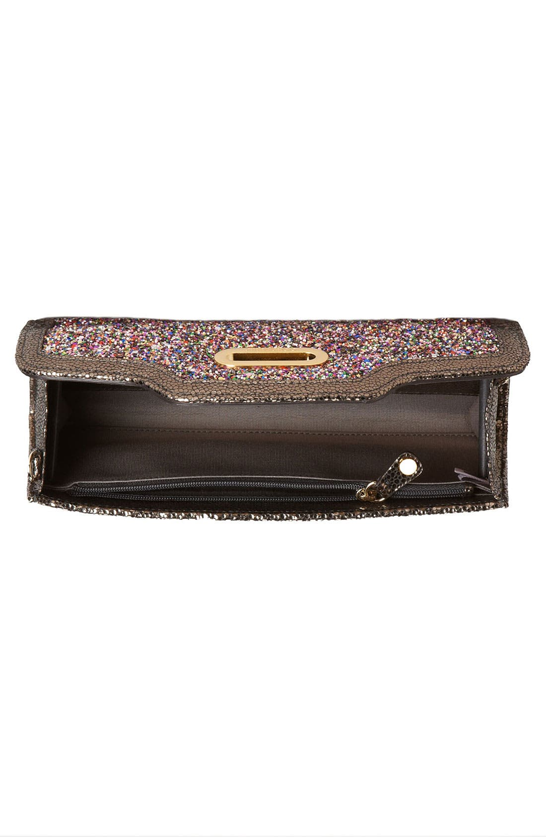 Alternate Image 3  - Jimmy Choo Glitter Clutch