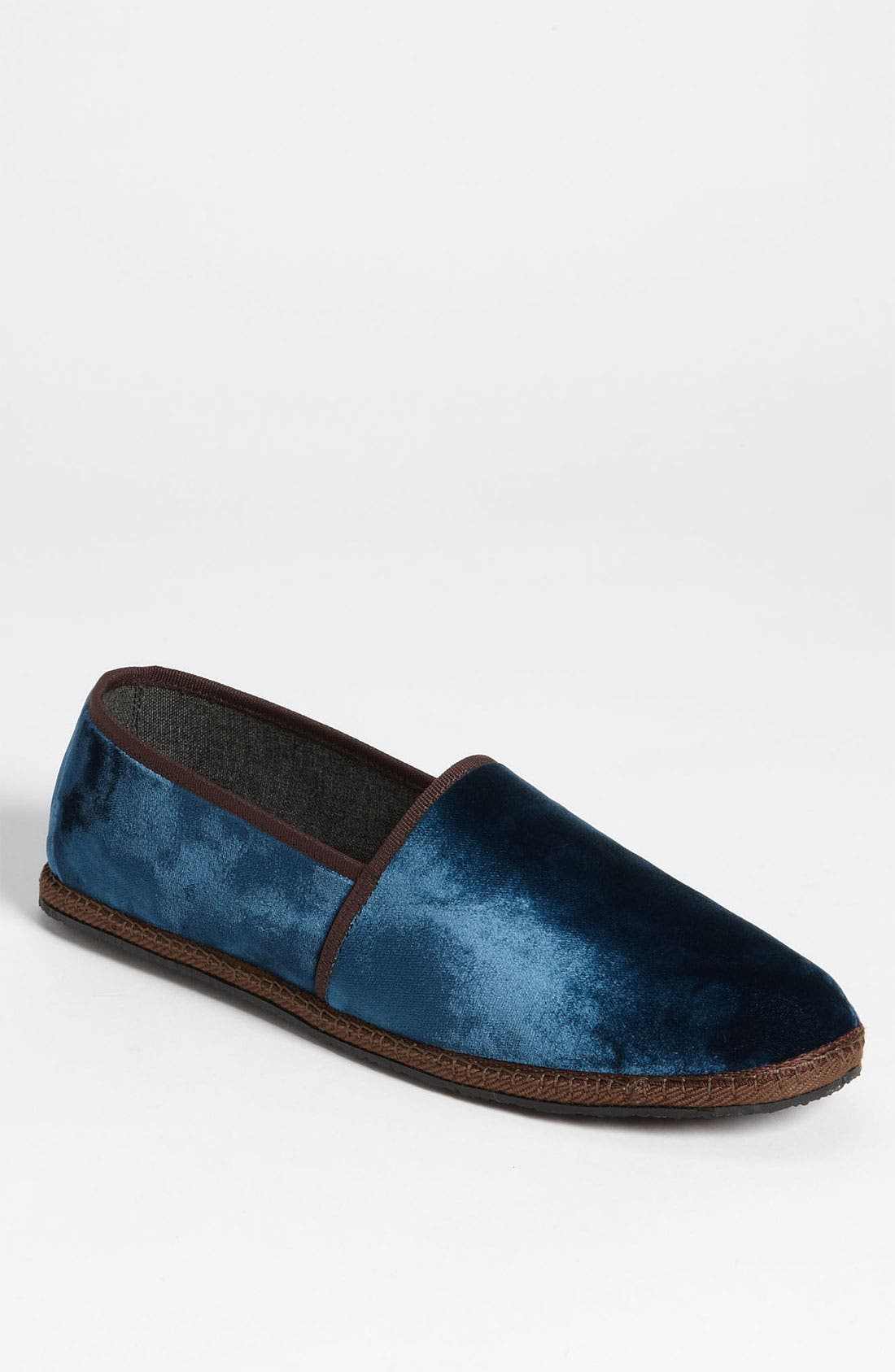 Alternate Image 1 Selected - Salvatore Ferragamo 'Adone' Velvet Slip On