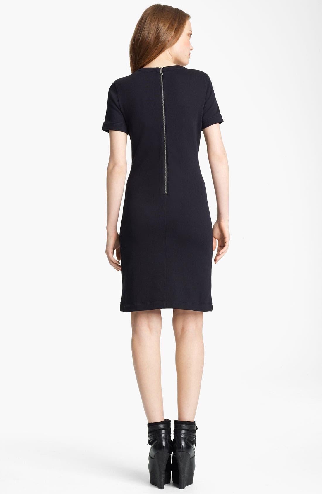 Alternate Image 2  - Burberry Brit Knit Dress