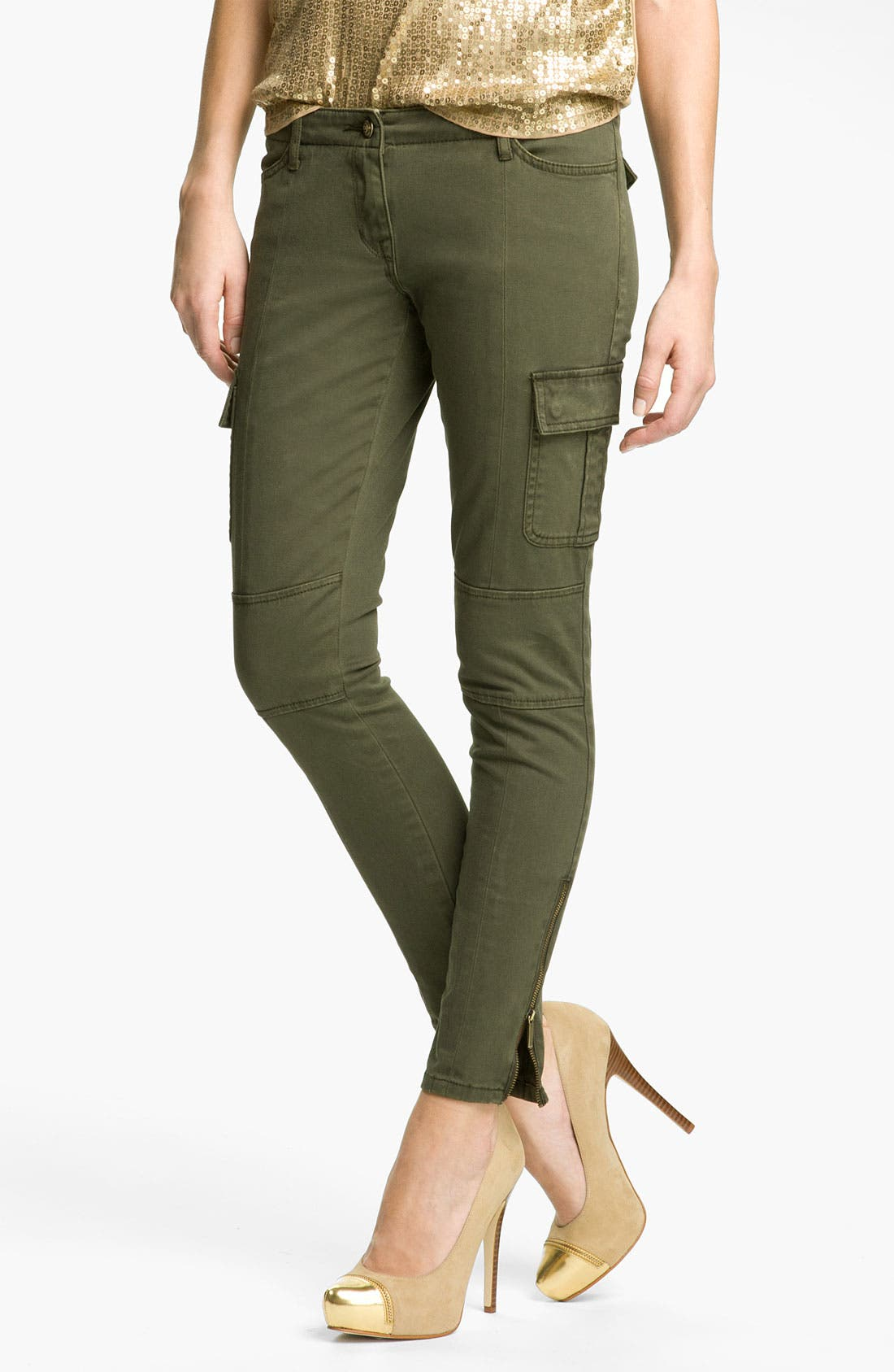 Alternate Image 1 Selected - MICHAEL Michael Kors Skinny Cargo Pants