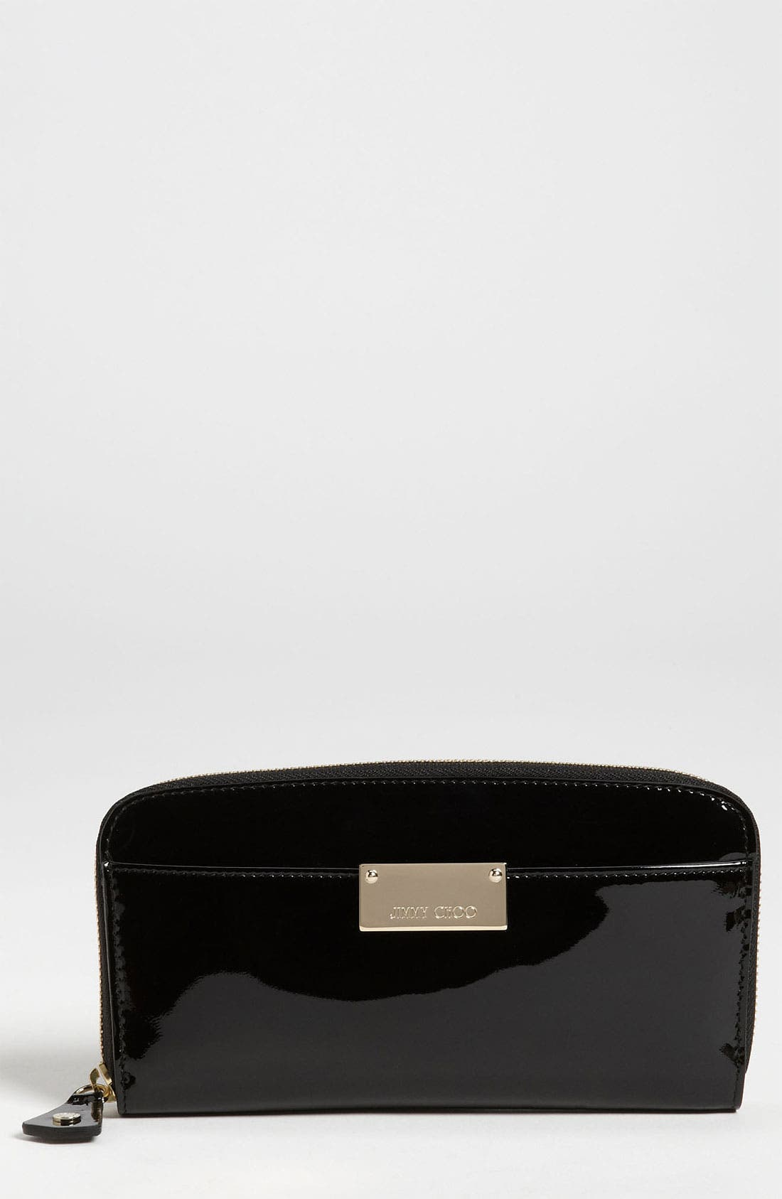 Alternate Image 1 Selected - Jimmy Choo 'Rush' Patent Leather Wallet